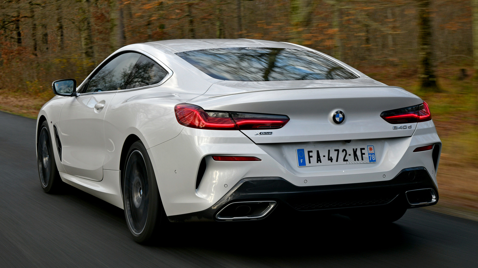 Mazda 6 Sport >> 2018 BMW 8 Series Coupe M Sport - Wallpapers and HD Images | Car Pixel