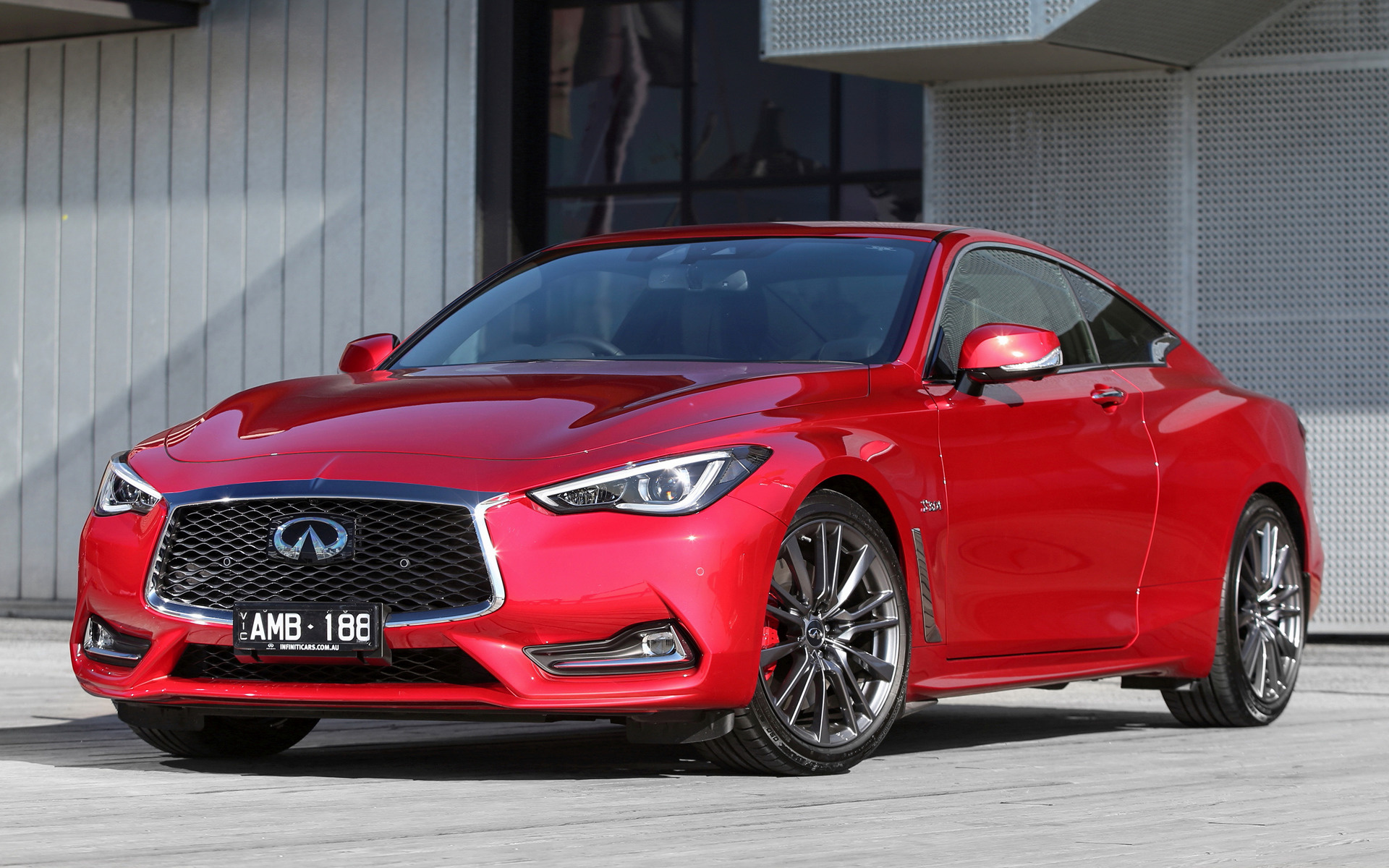 Honda Coupe 2017 >> 2017 Infiniti Q60 Sport (AU) - Wallpapers and HD Images | Car Pixel