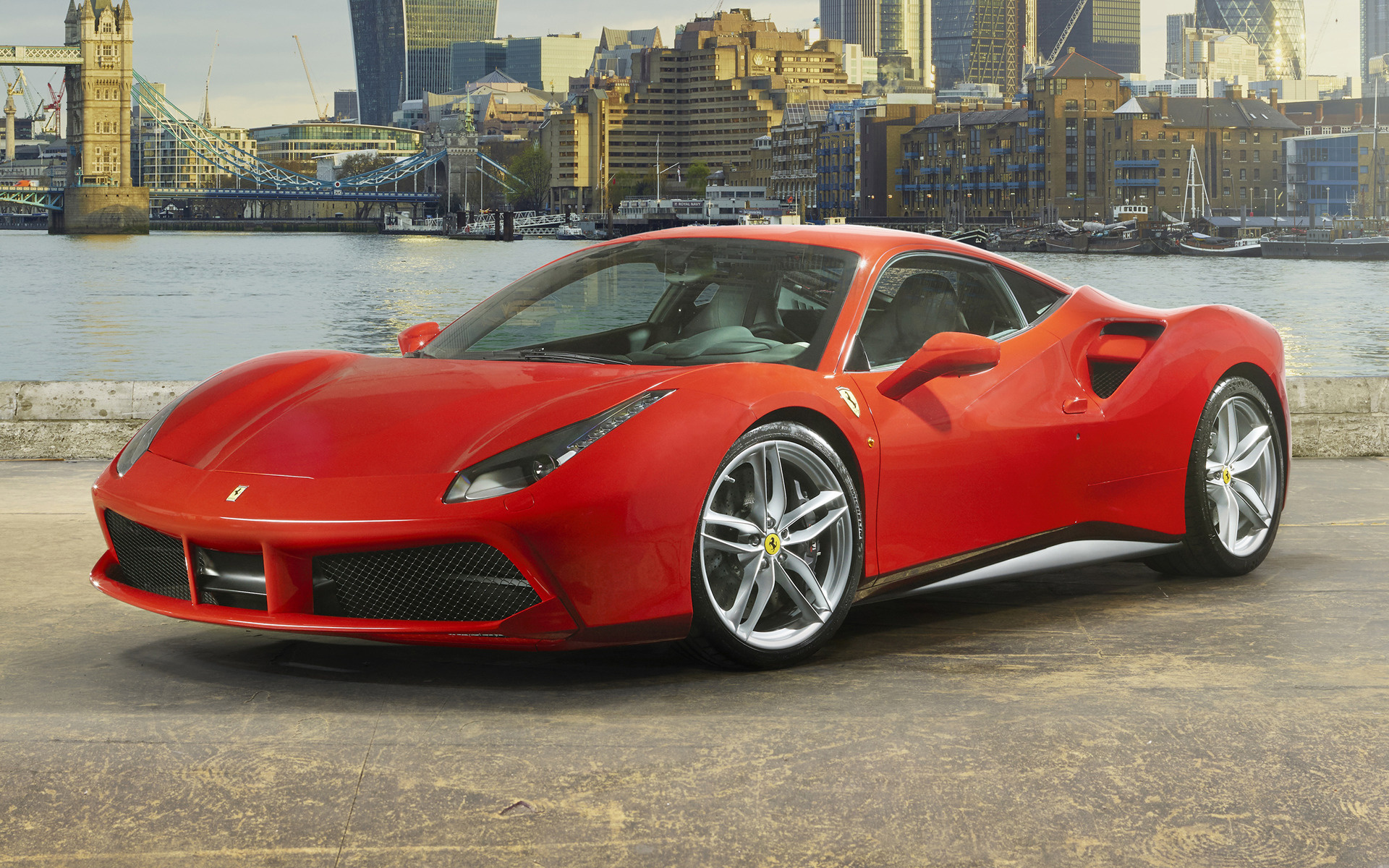 Ferrari 488 GTB (2015) Wallpapers and HD Images - Car Pixel