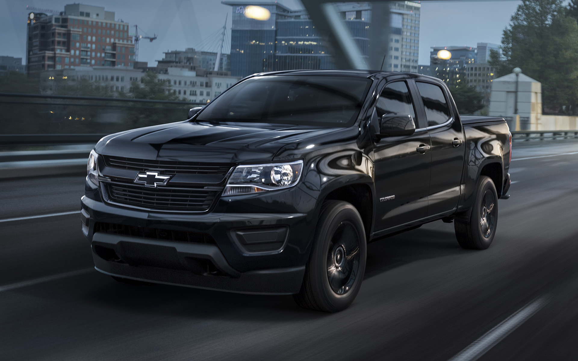 chevrolet colorado lt midnight crew cab  wallpapers  hd images car pixel