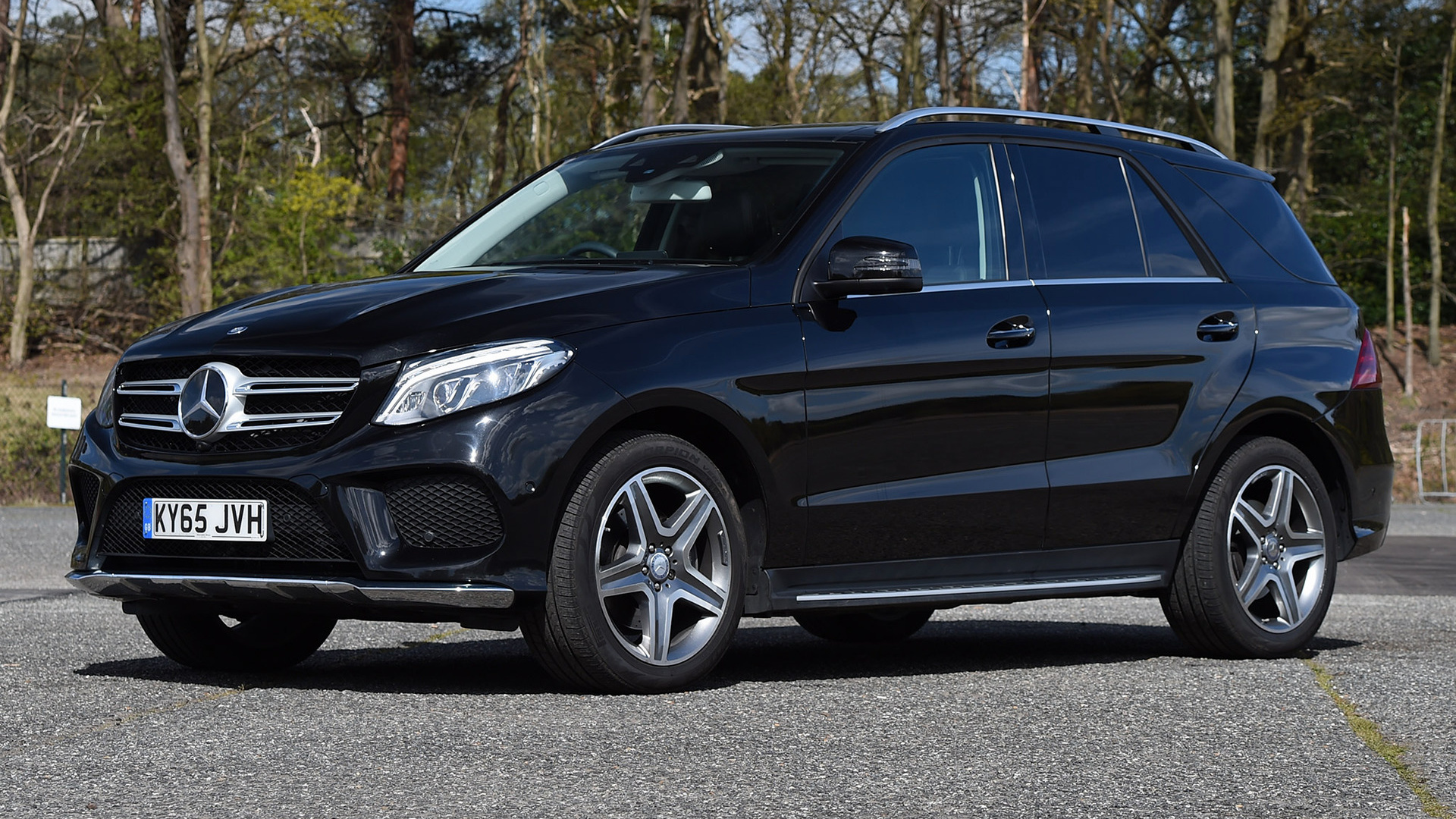 mercedes benz gle class amg line 2015 uk wallpapers and hd images car pixel. Black Bedroom Furniture Sets. Home Design Ideas