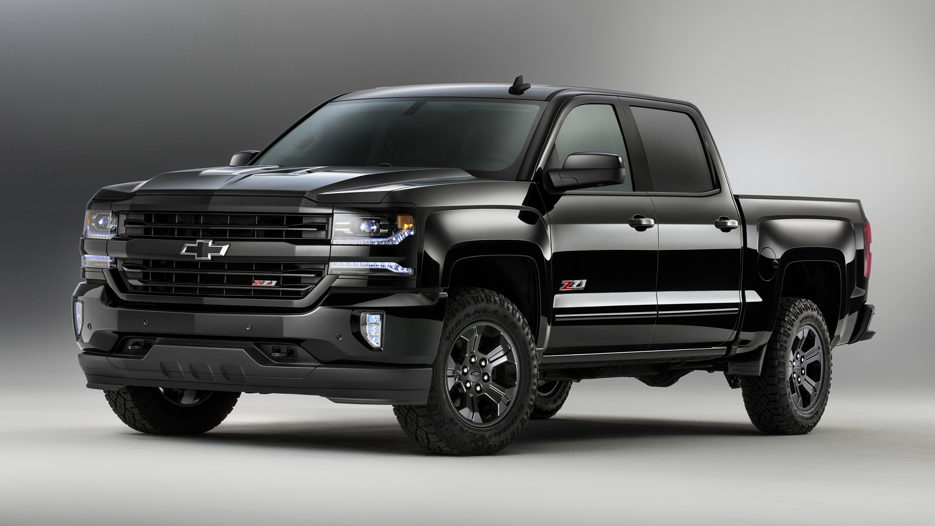 chevrolet silverado z71 midnight crew cab 2016 wallpapers and hd images car pixel. Black Bedroom Furniture Sets. Home Design Ideas