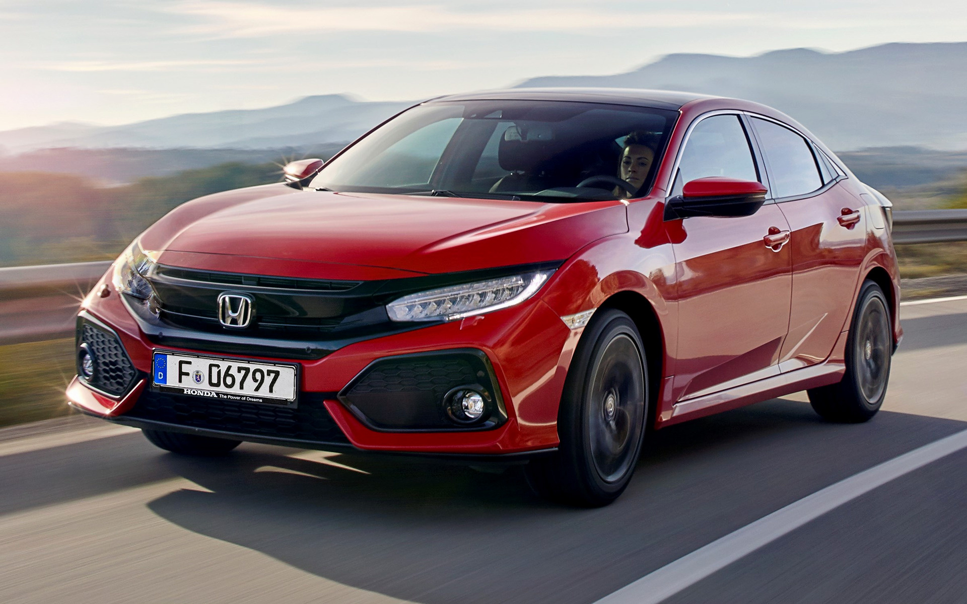 Civic Type R >> 2017 Honda Civic - Wallpapers and HD Images | Car Pixel