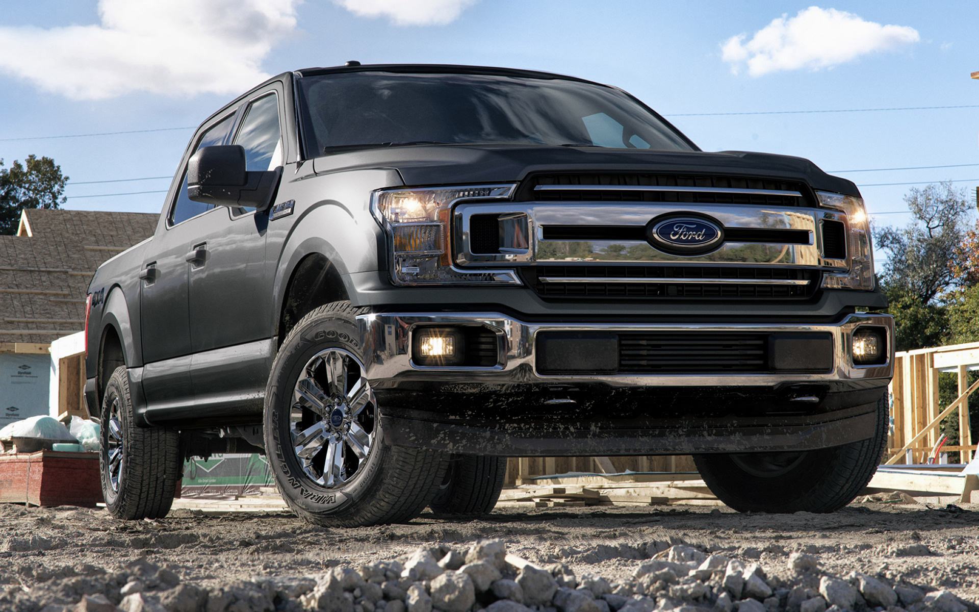 2017 Ford F 150 Lariat >> 2018 Ford F-150 XLT SuperCrew - Wallpapers and HD Images | Car Pixel