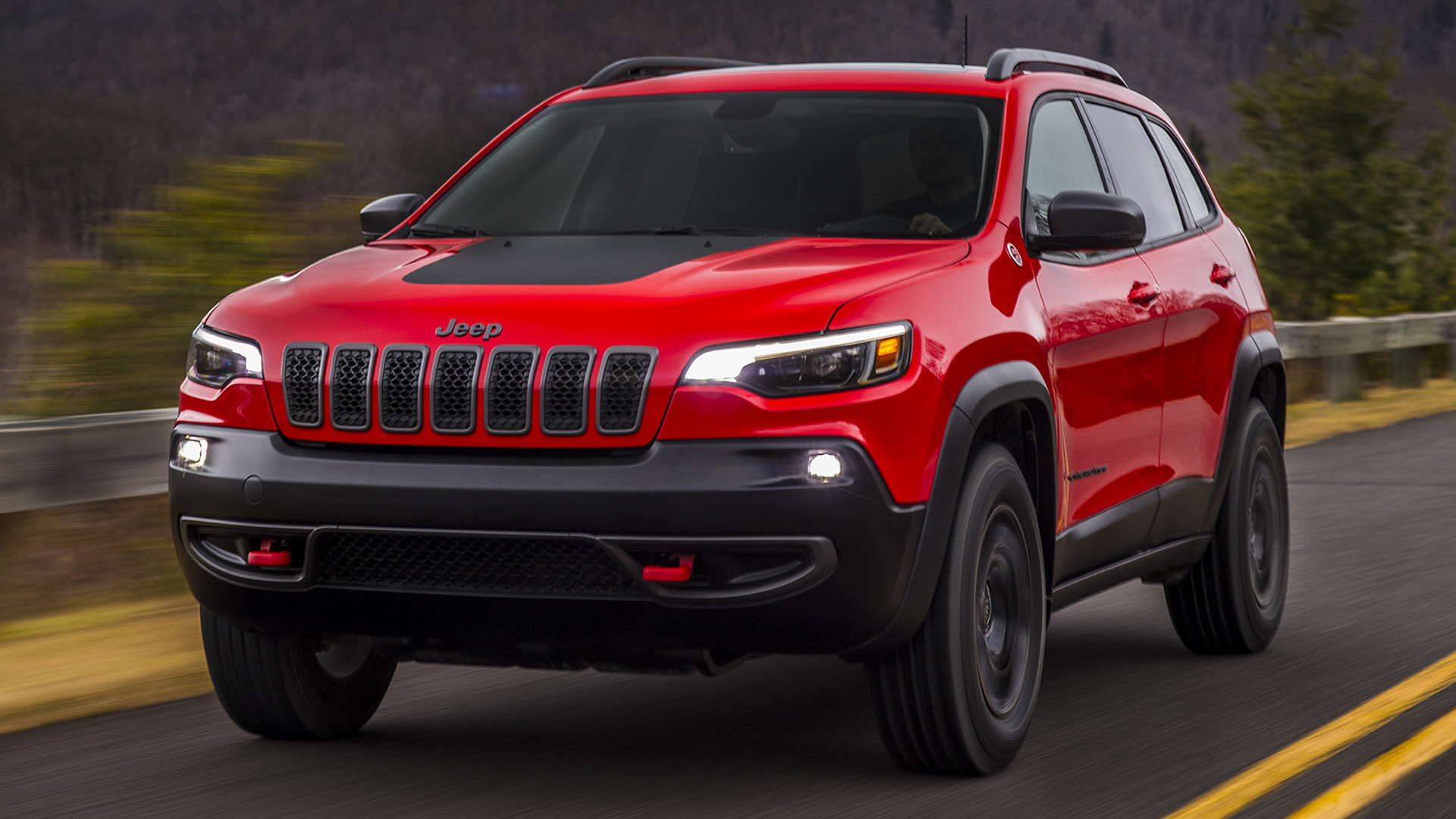 2018 Jeep Cherokee Trailhawk - Wallpapers and HD Images | Car Pixel