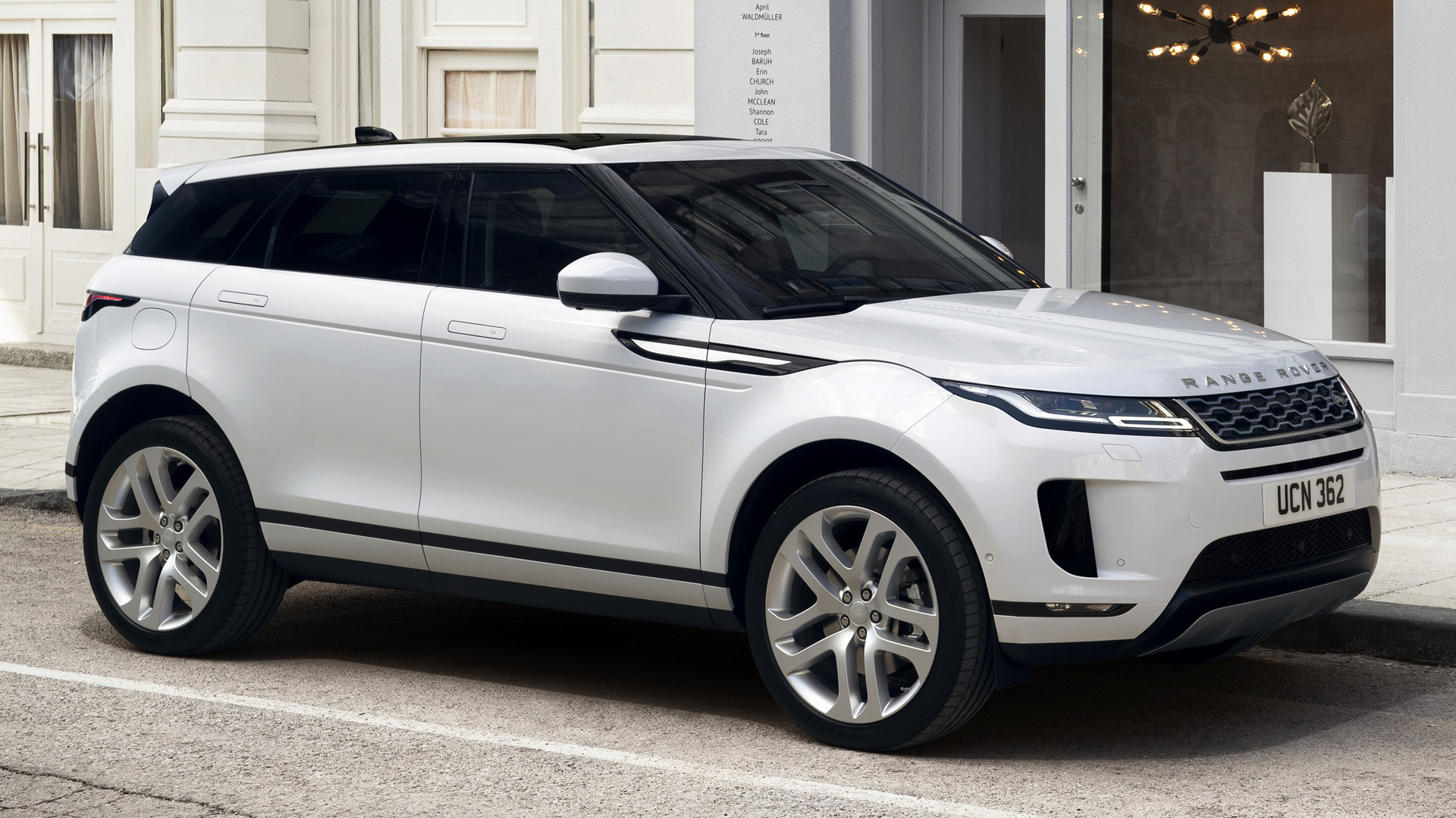 2019 range rover evoque wallpapers and hd images car pixel. Black Bedroom Furniture Sets. Home Design Ideas