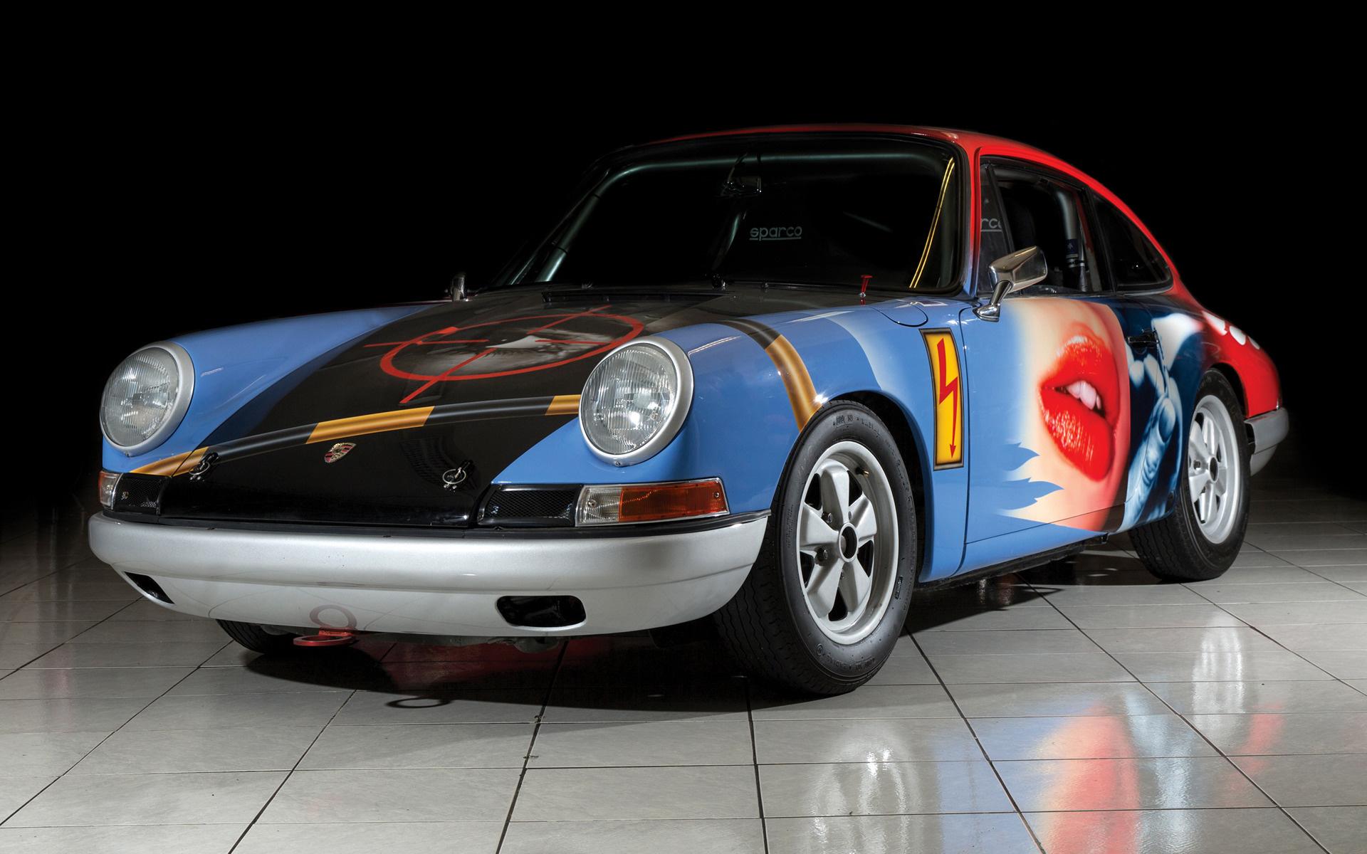 1965 porsche 911 007 art car by peter klasen