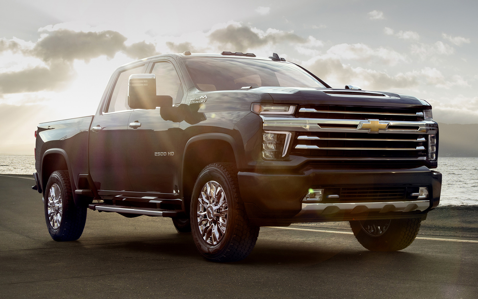 Gmc High Country >> 2020 Chevrolet Silverado 2500 HD High Country Crew Cab ...