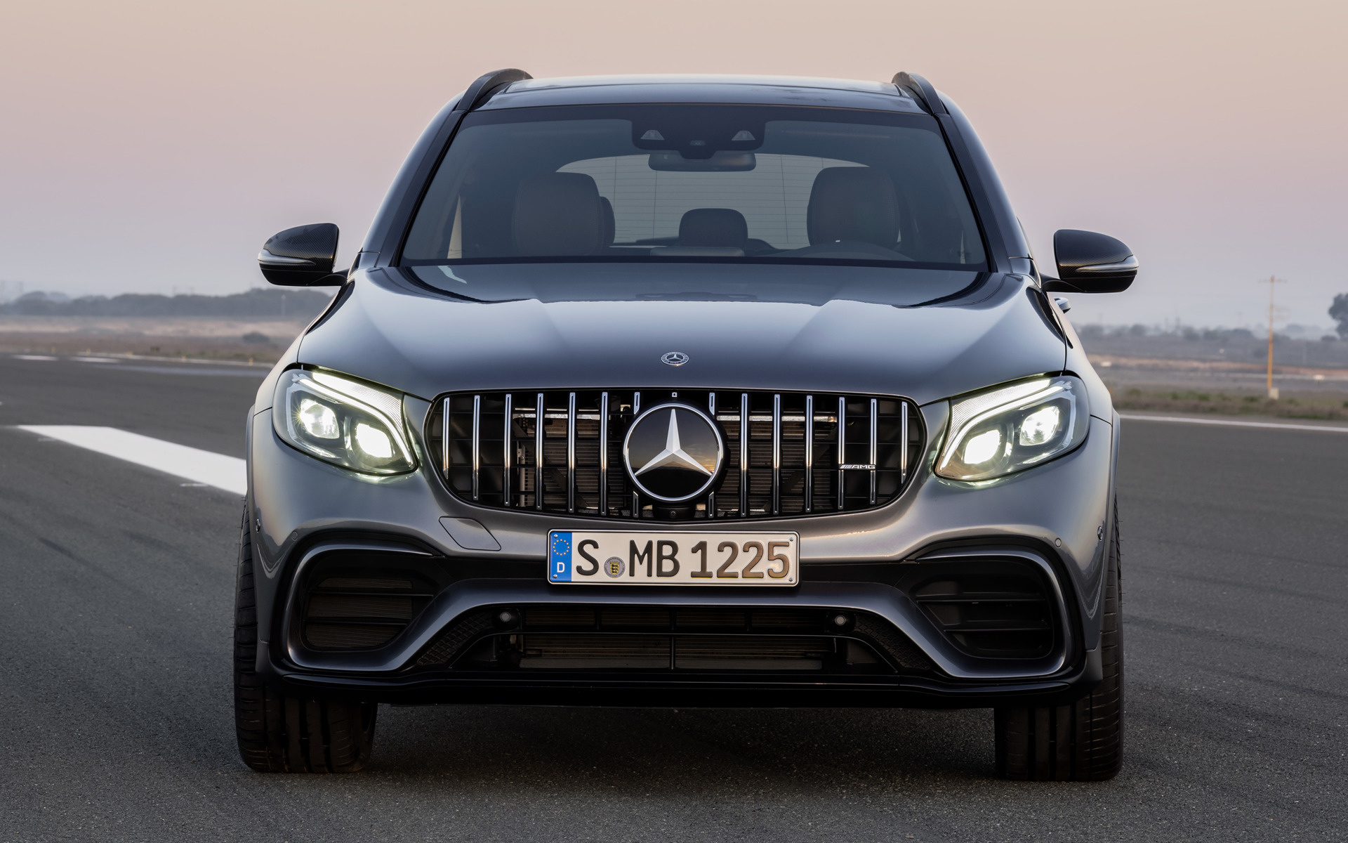 2017 mercedes amg glc 63 s wallpapers and hd images. Black Bedroom Furniture Sets. Home Design Ideas