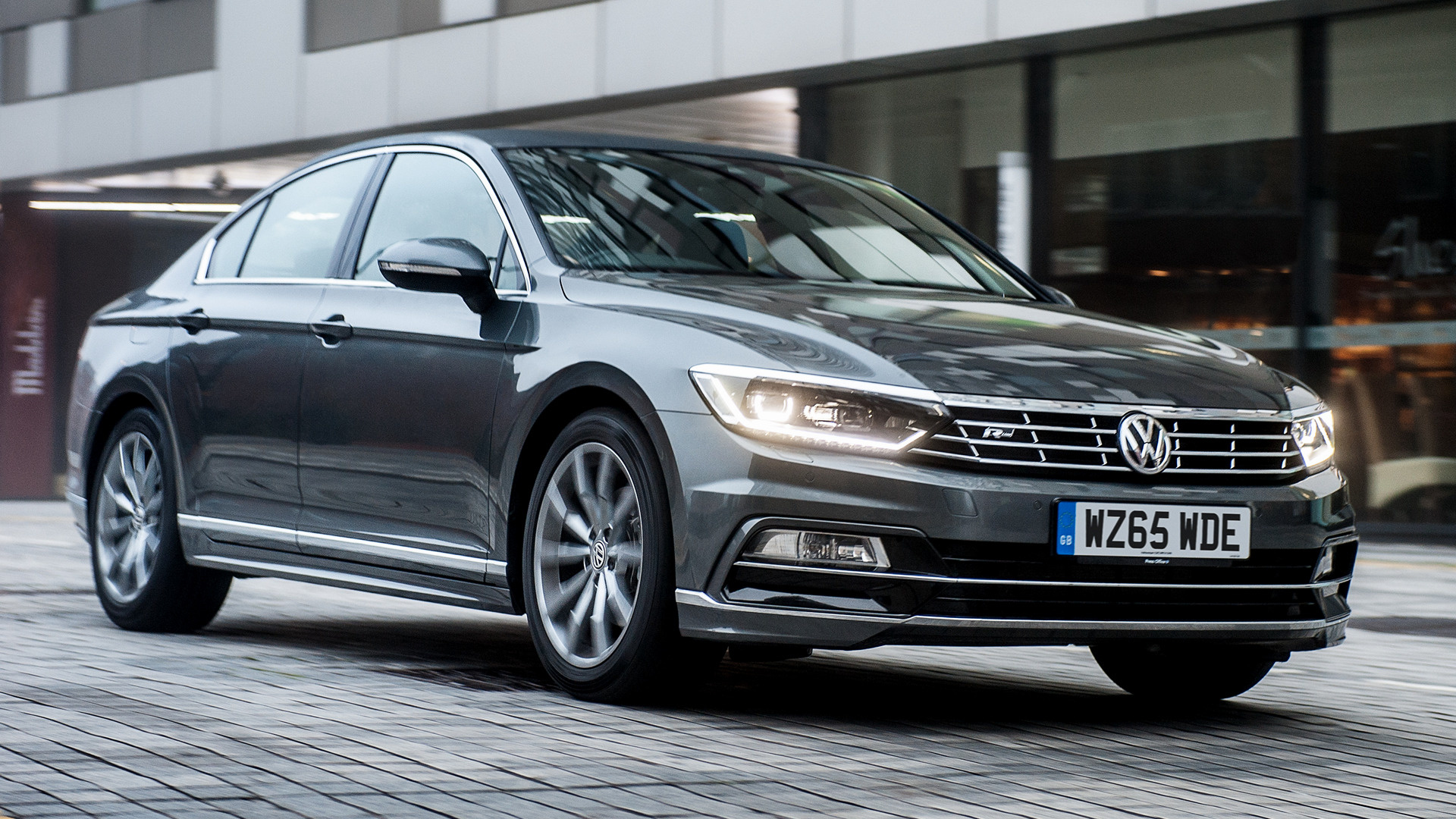 Volkswagen Passat R Line 2015 Uk Wallpapers And Hd