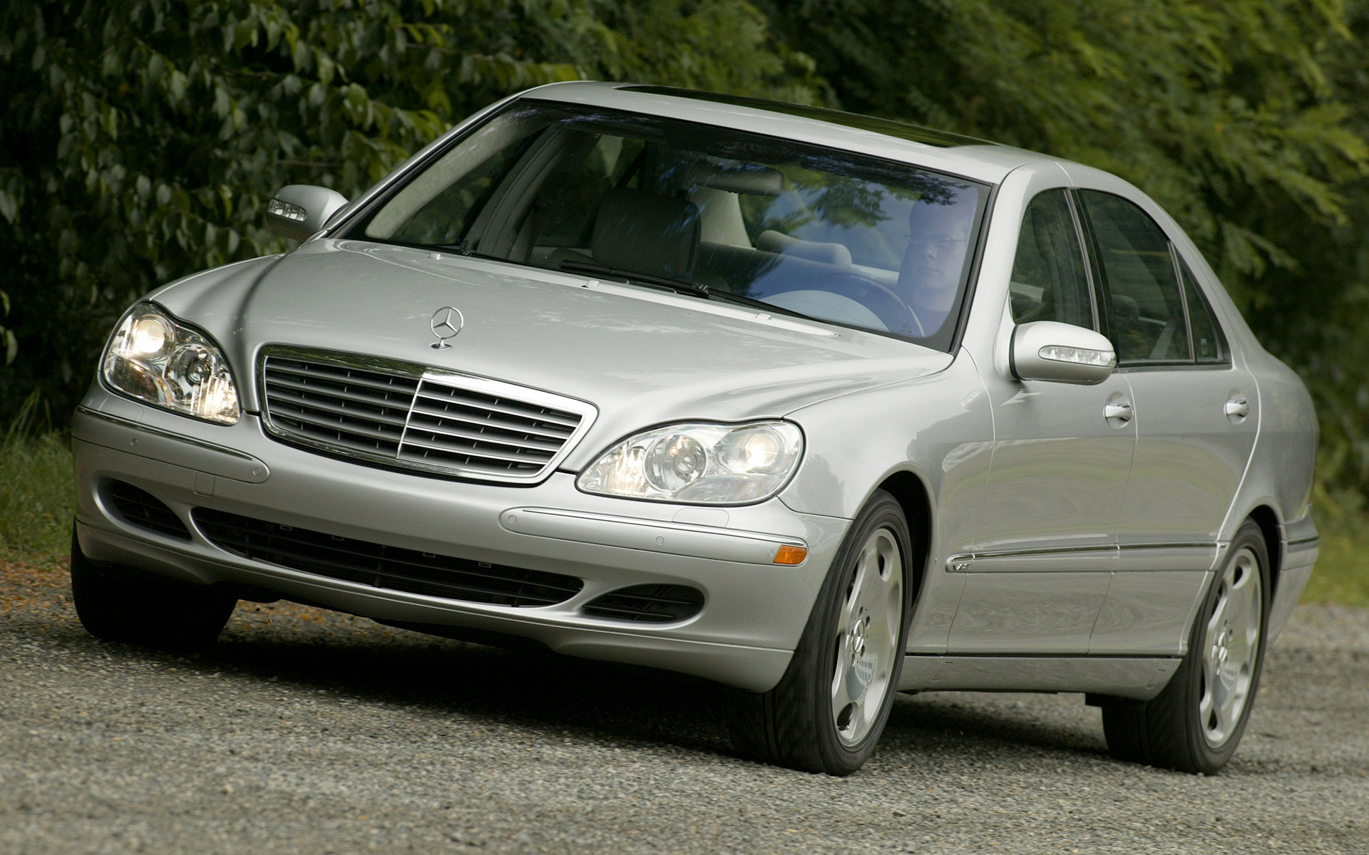 2002 mercedes benz s class long us wallpapers and hd images car pixel. Black Bedroom Furniture Sets. Home Design Ideas