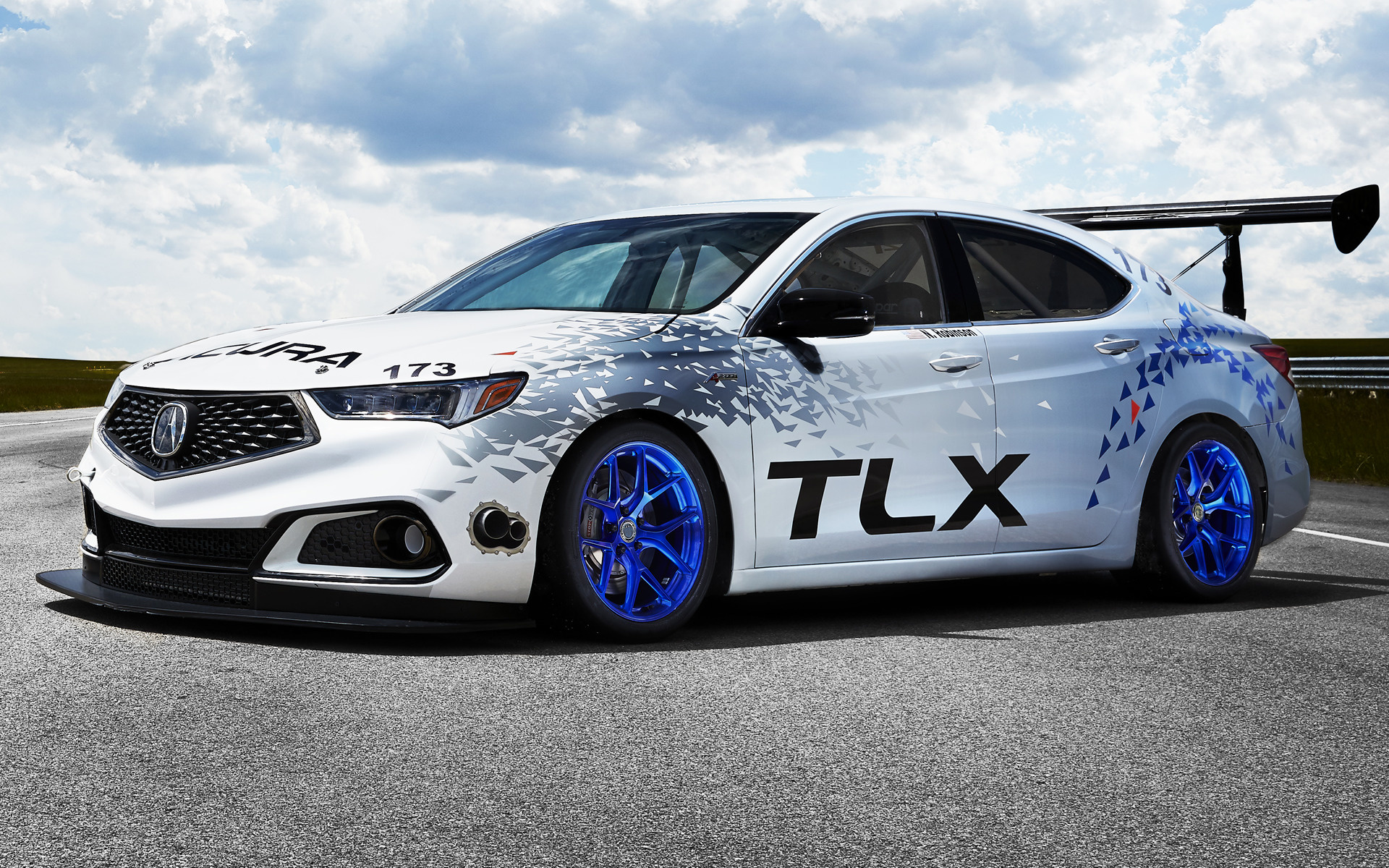 Dodge Ram 2017 >> 2017 Acura TLX A-Spec Race Car - Wallpapers and HD Images ...