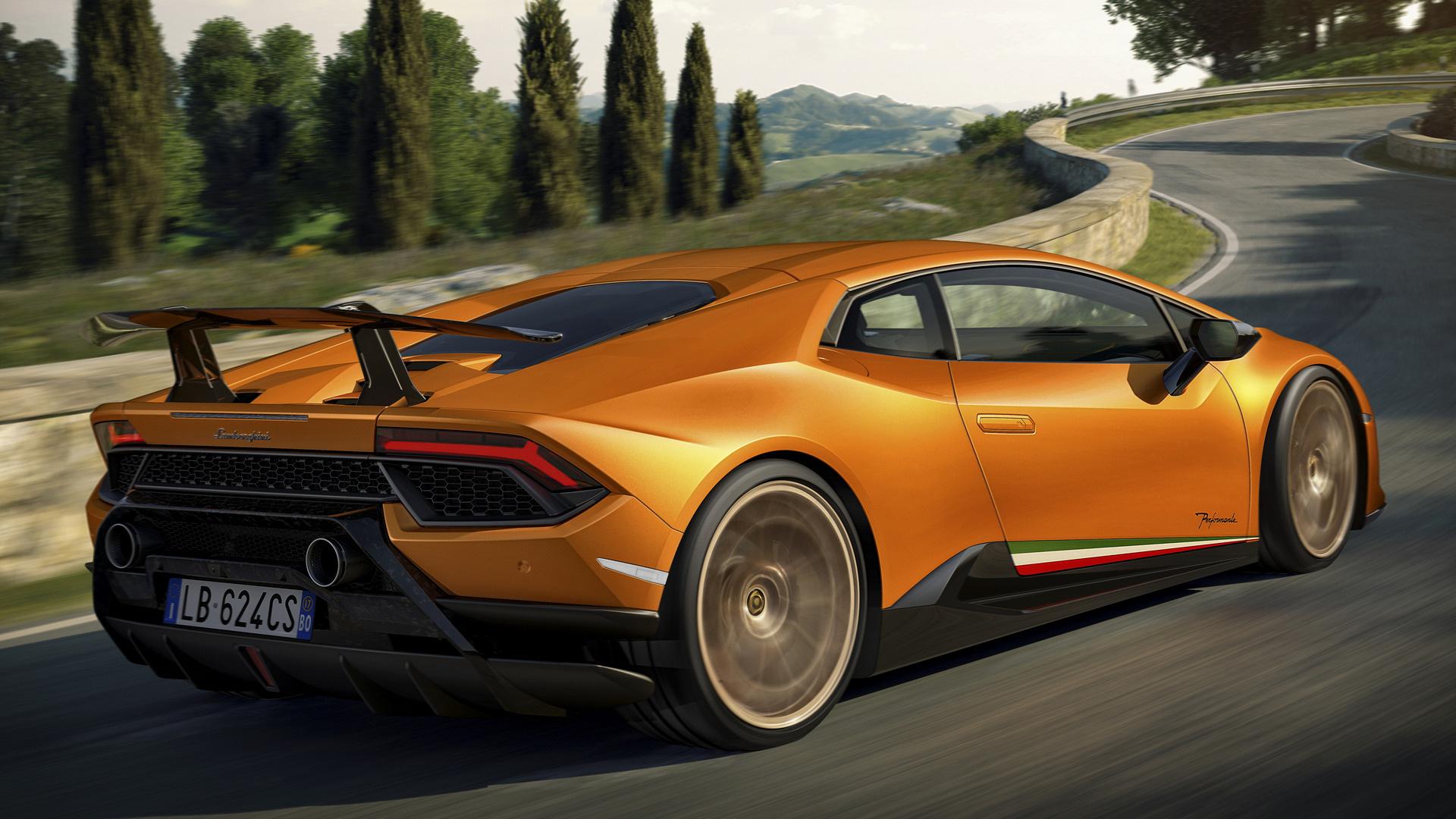 Lamborghini Huracan Performante (2017) Wallpapers and HD ...