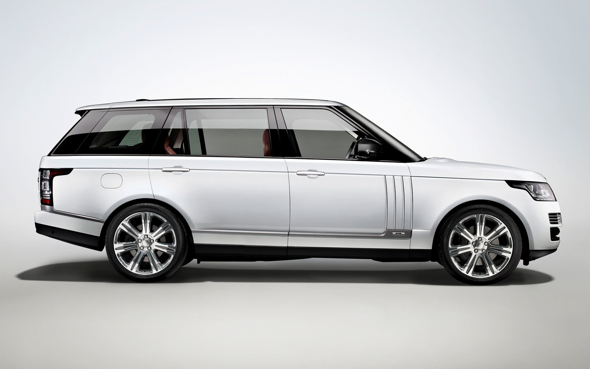 Range Rover Autobiography Black Lwb 2014 Wallpapers