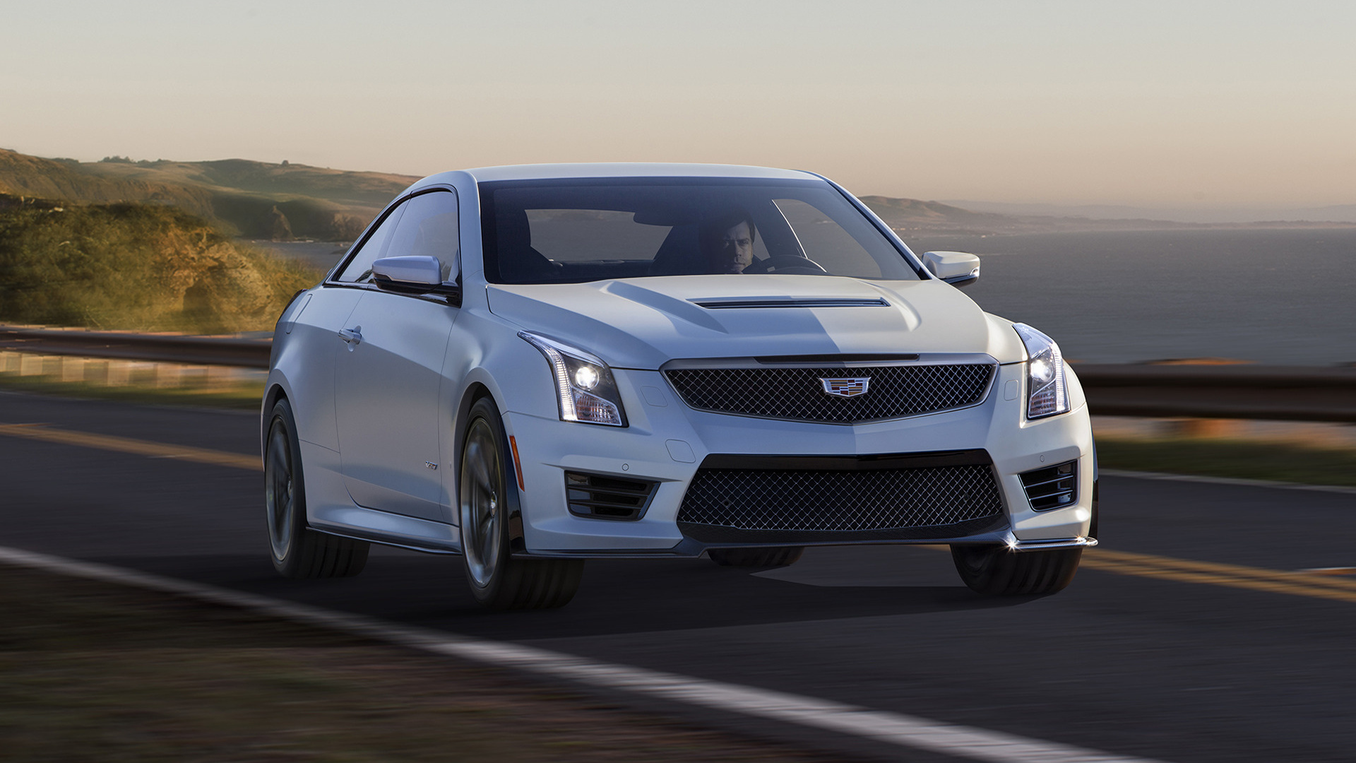 cadillac ats v coupe 2016 wallpapers and hd images car pixel. Black Bedroom Furniture Sets. Home Design Ideas