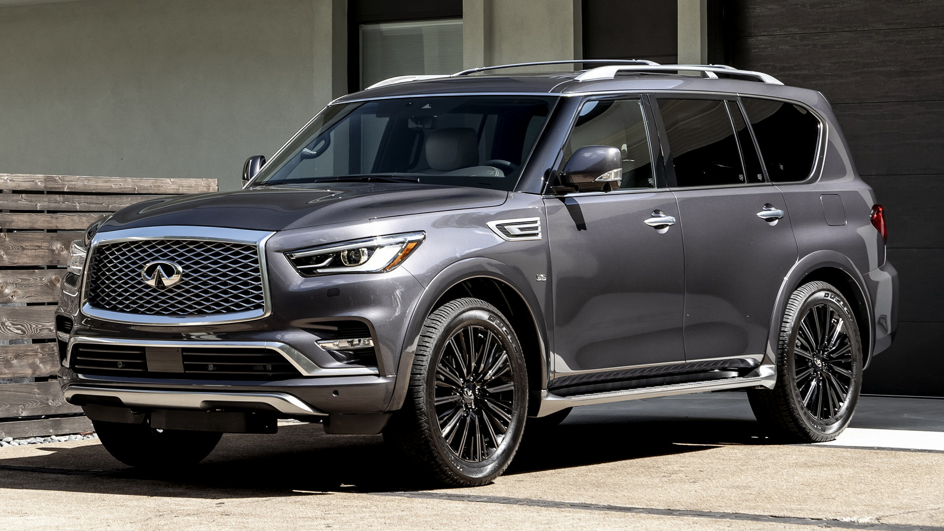 2019 Infiniti QX80 Limited - Wallpapers and HD Images ...