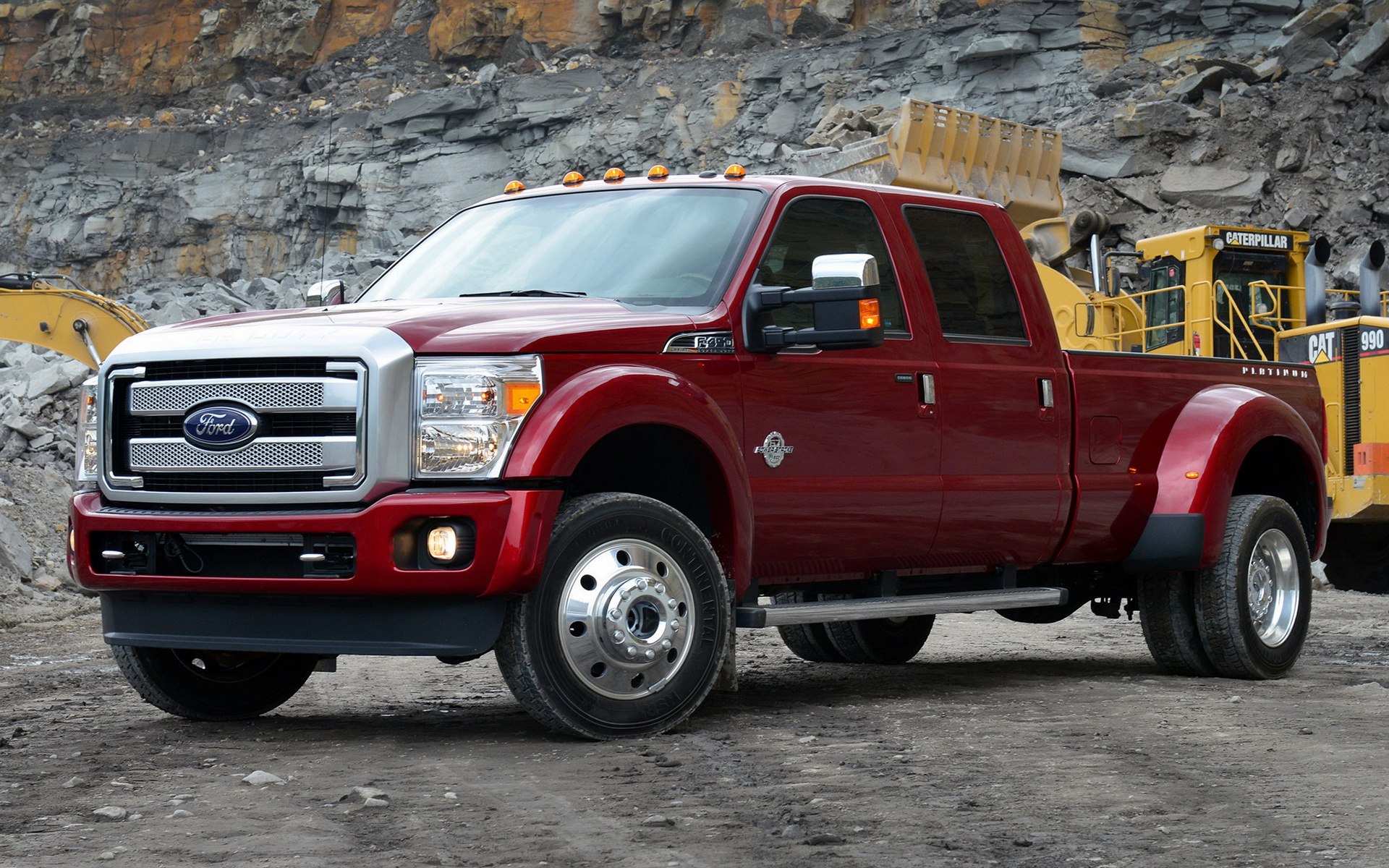 Ford F-450 Platinum Crew Cab (2013) Wallpapers and HD ...