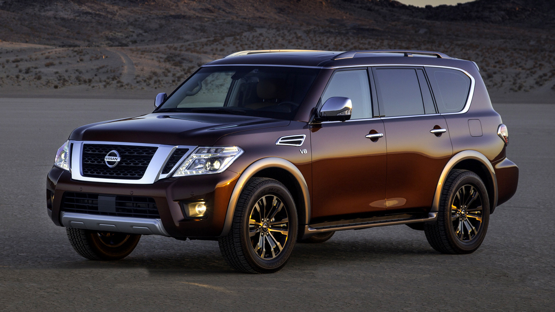 nissan armada platinum 2017 wallpapers and hd images. Black Bedroom Furniture Sets. Home Design Ideas