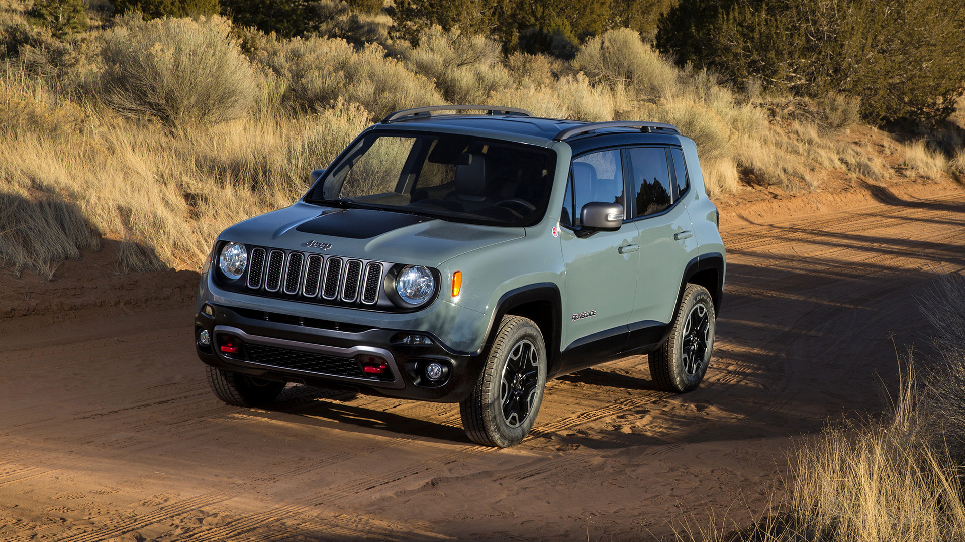 Jeep Renegade Trailhawk (2015) Wallpapers and HD Images ...