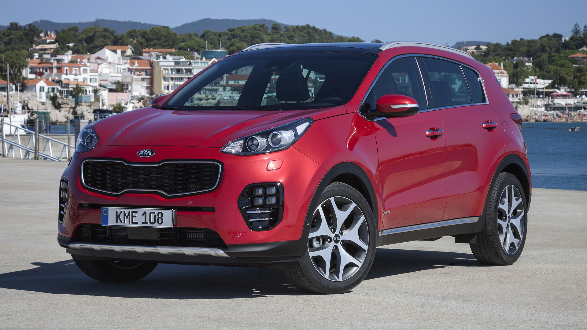 kia sportage gt line 2015 wallpapers and hd images car pixel. Black Bedroom Furniture Sets. Home Design Ideas