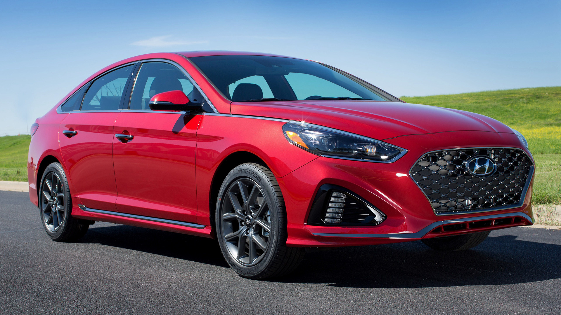 2018 Hyundai Sonata Sport Wallpapers And Hd Images Car