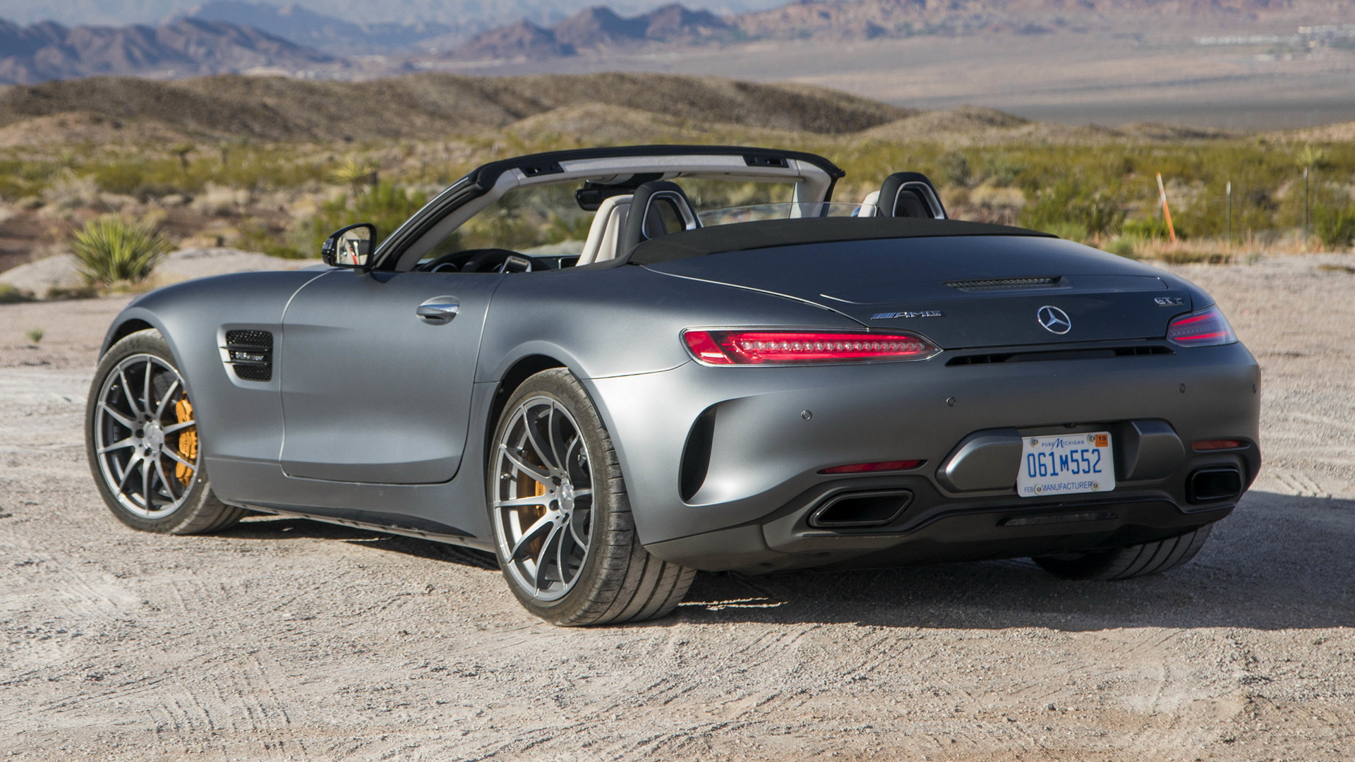 2017 Mercedes-AMG GT C Roadster (US) - Wallpapers and HD ...