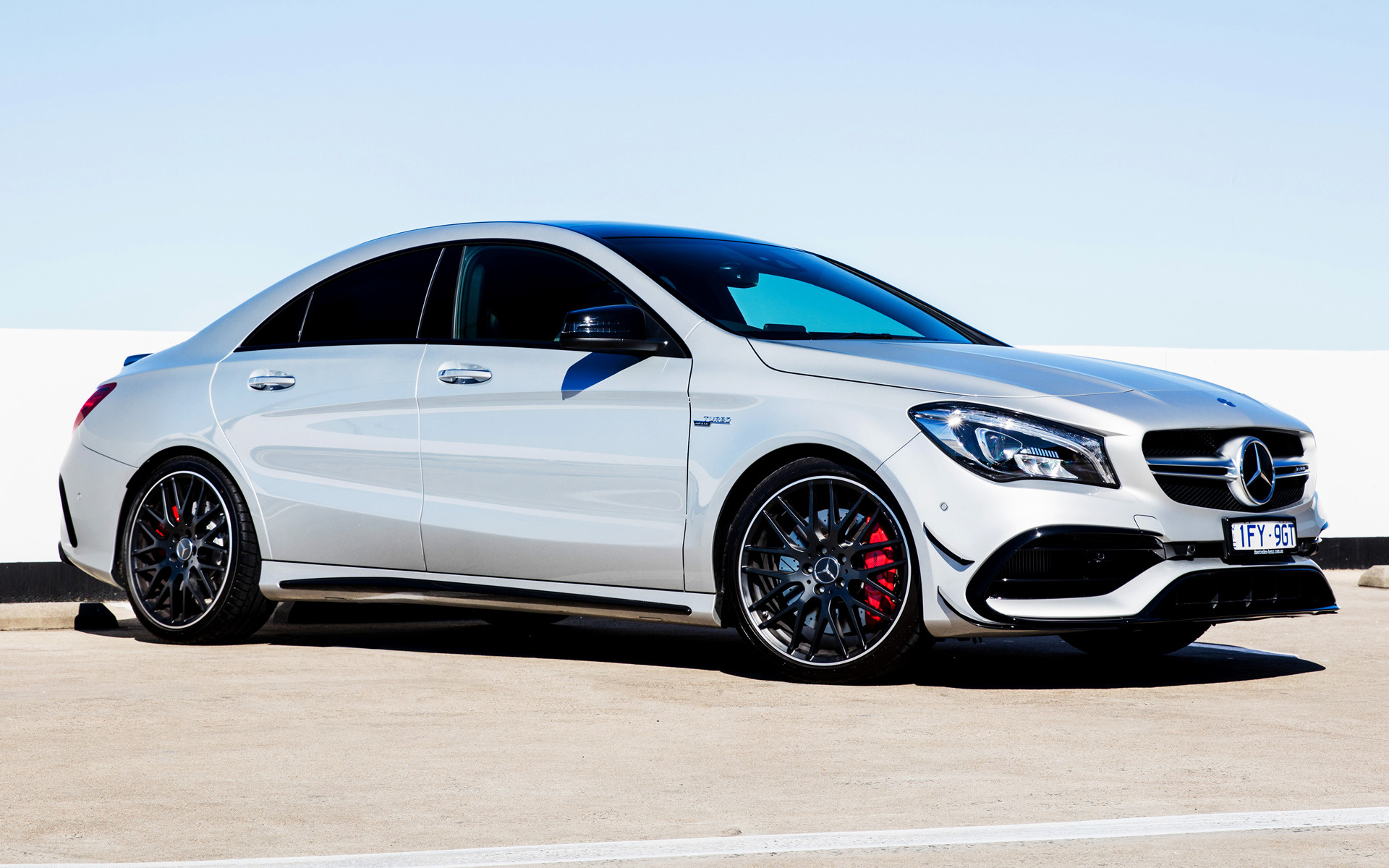 Genesis Coupe 2016 >> 2016 Mercedes-AMG CLA 45 Aerodynamics Package (AU) - Wallpapers and HD Images | Car Pixel