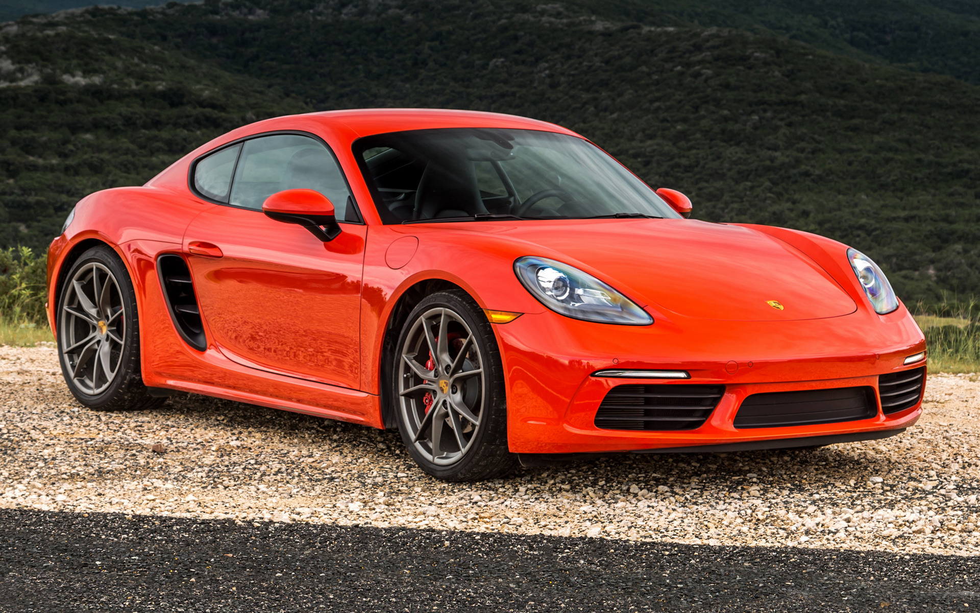 Porsche 718 Cayman S 2017 Us Wallpapers And Hd Images Car Pixel