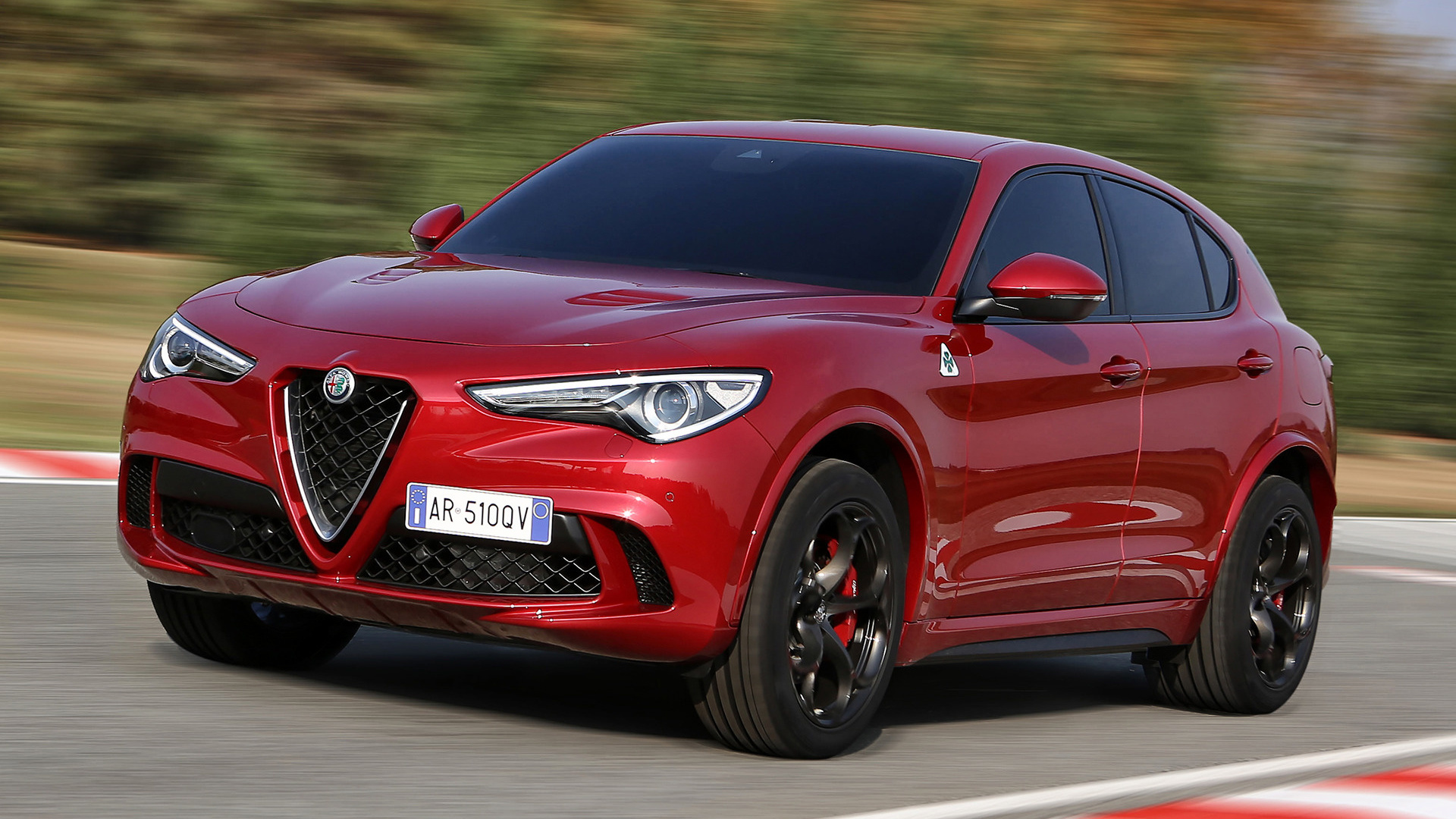 alfa romeo stelvio quadrifoglio 2017 wallpapers and hd images car pixel. Black Bedroom Furniture Sets. Home Design Ideas