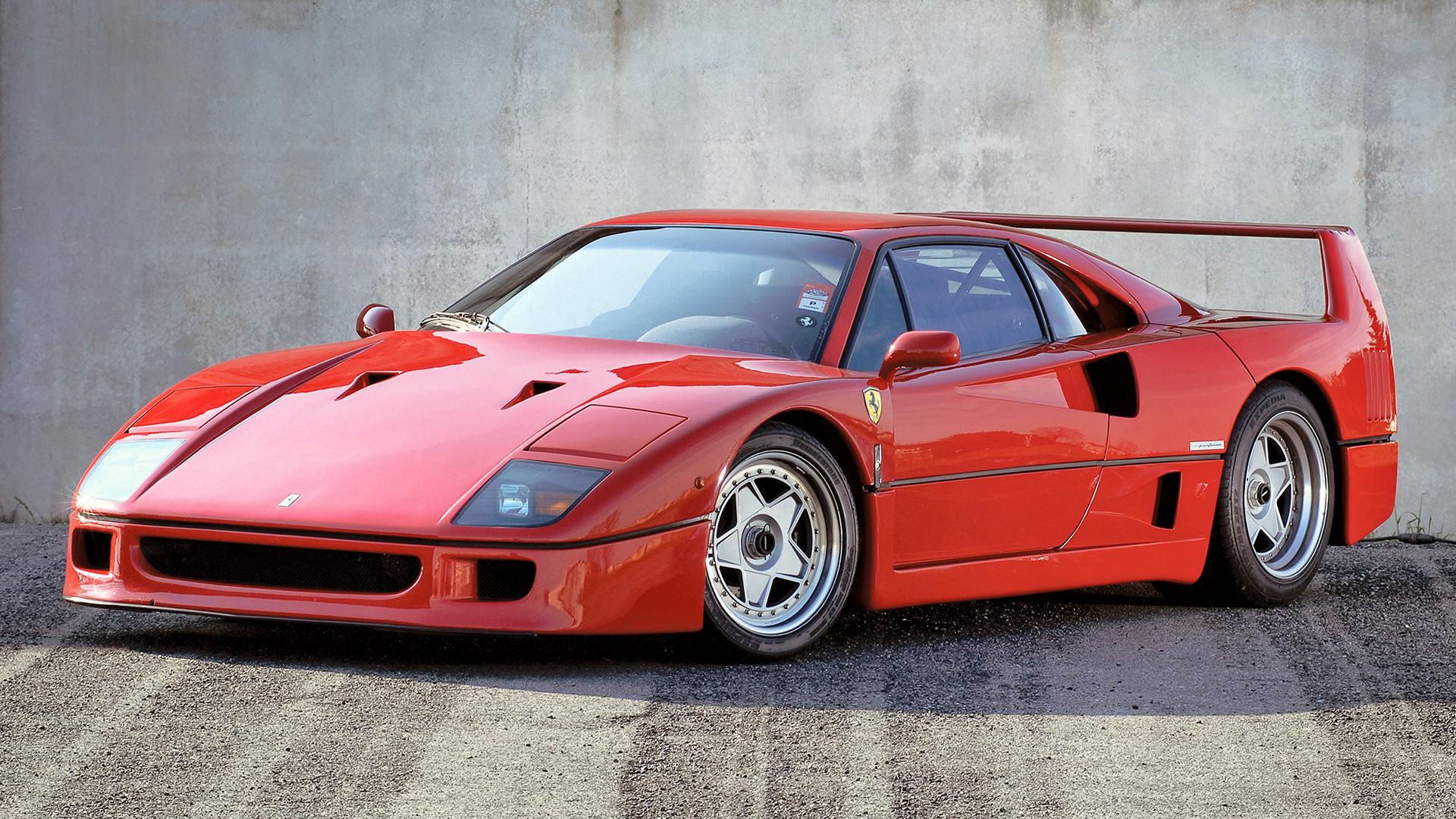 1989 Ferrari F40 Valeo Wallpapers And Hd Images Car Pixel