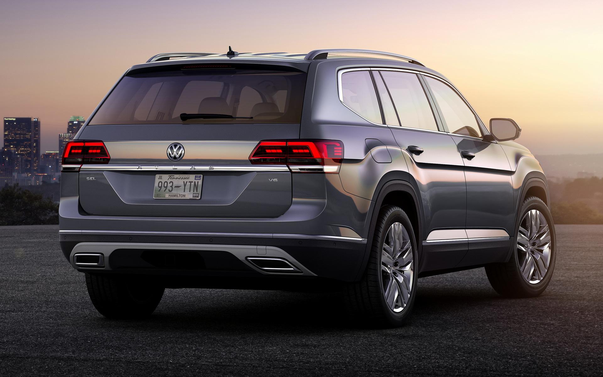 2017 Volkswagen Atlas - Wallpapers and HD Images | Car Pixel