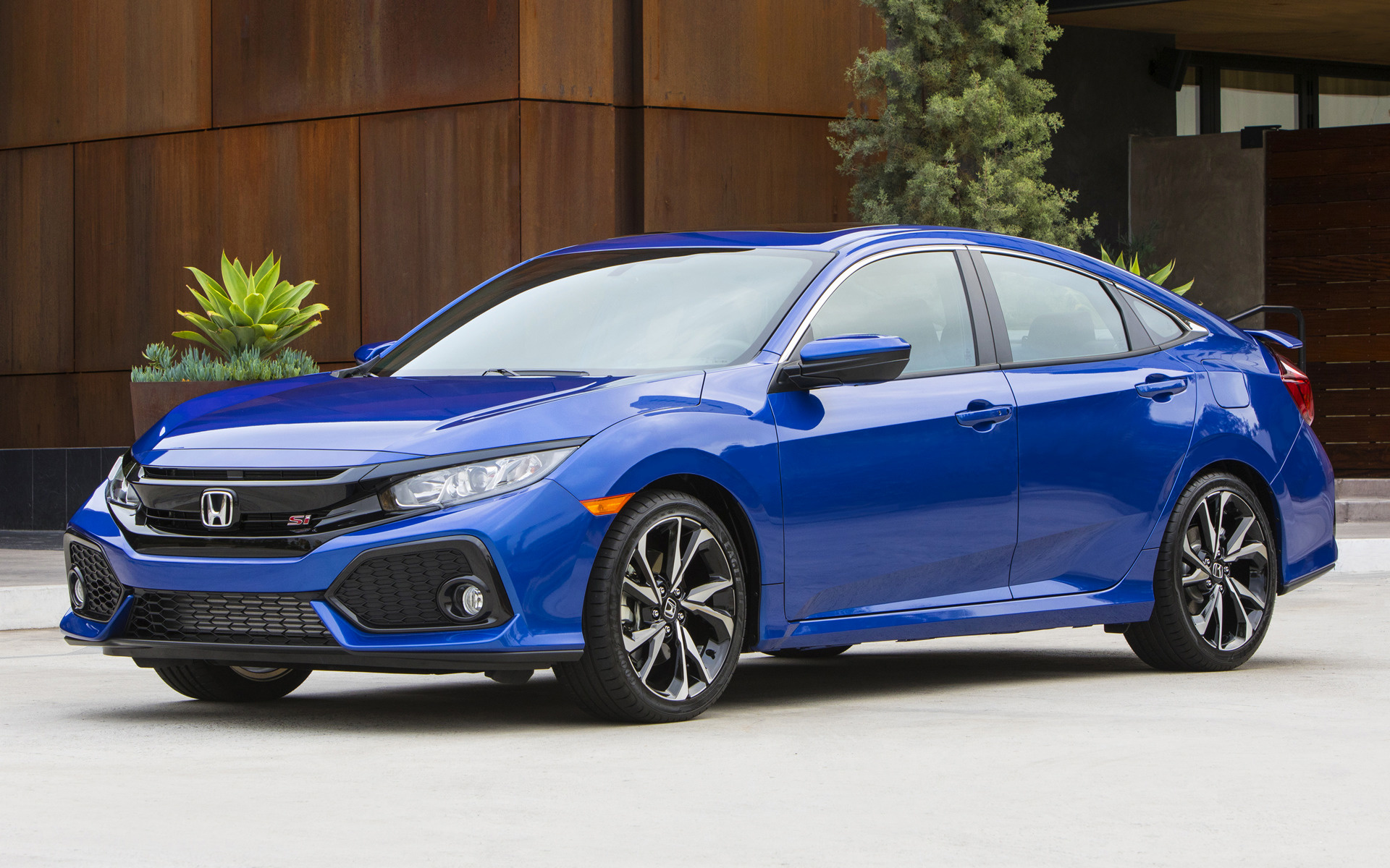 2017 Honda Civic Si Sedan US Wallpapers And HD Images