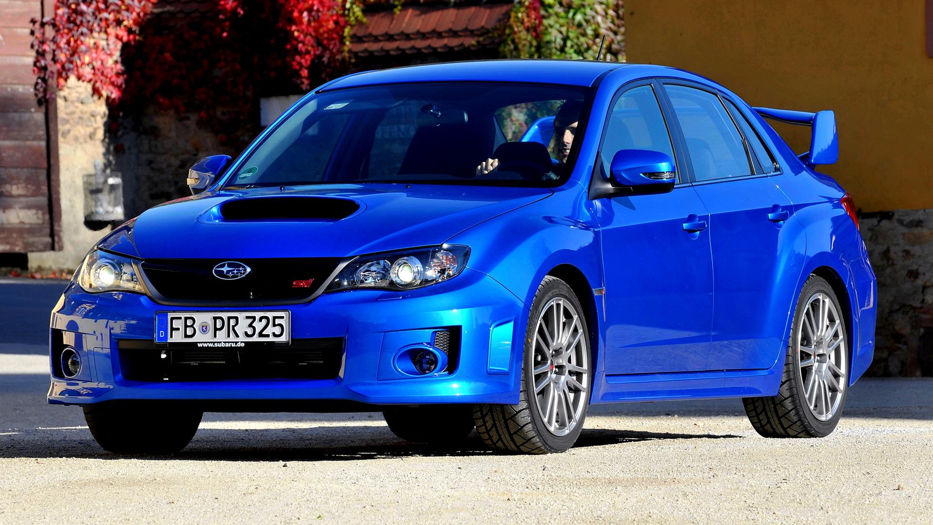 subaru impreza wrx sti sedan (2010) wallpapers and hd images - car