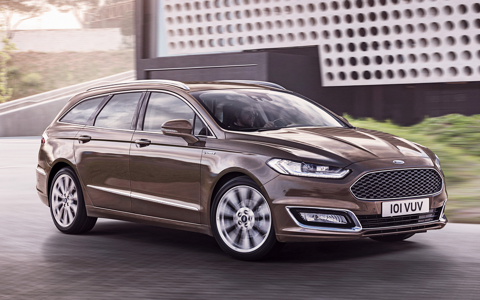 ford vignale mondeo turnier 2015 wallpapers and hd images car pixel. Black Bedroom Furniture Sets. Home Design Ideas