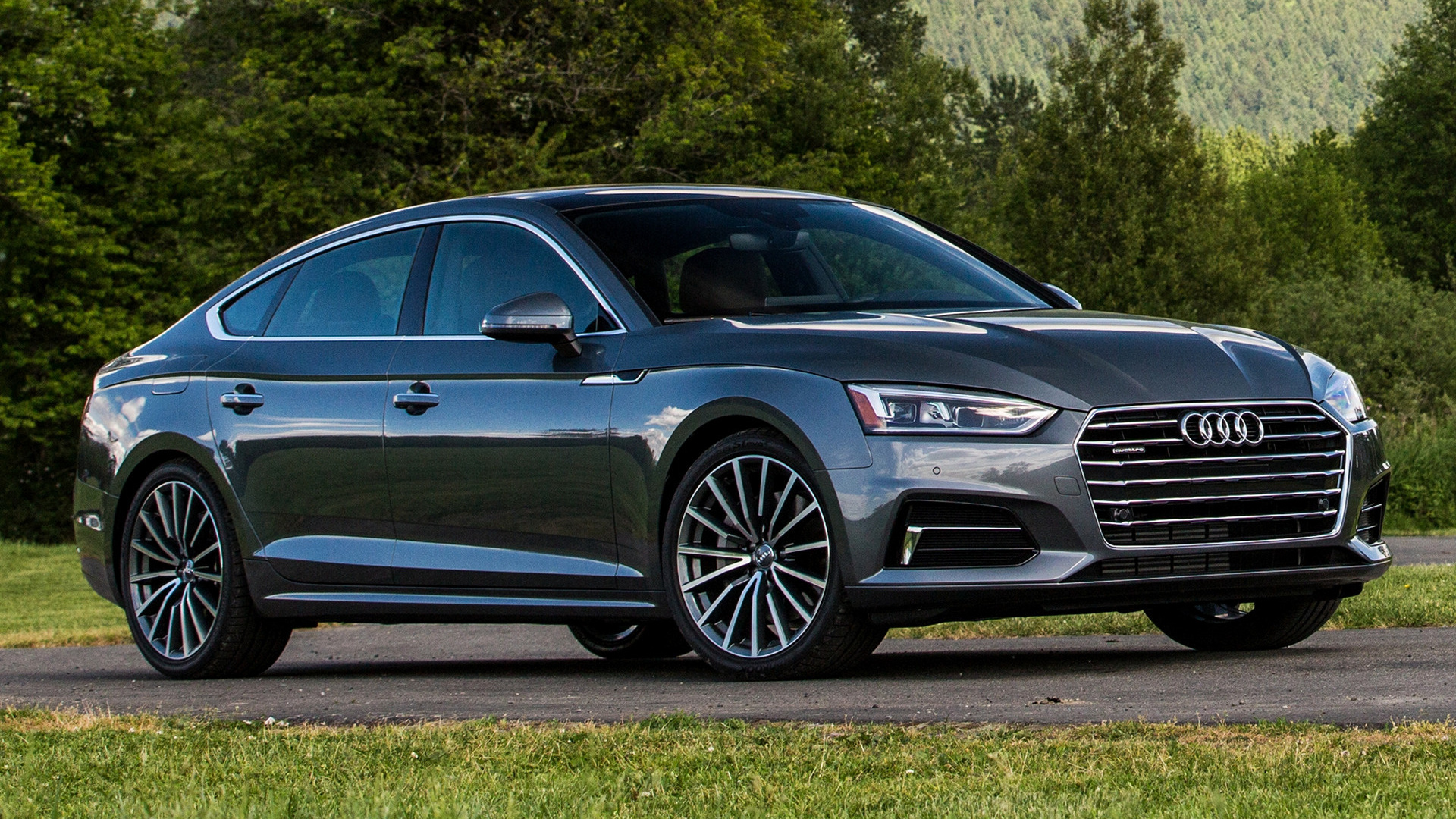 2018 audi a5 sportback us wallpapers and hd images car pixel. Black Bedroom Furniture Sets. Home Design Ideas