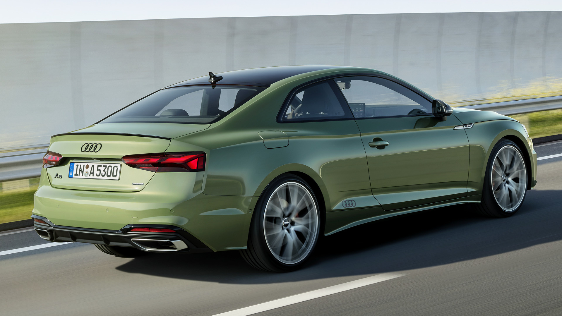 2020 audi a5 coupe edition one
