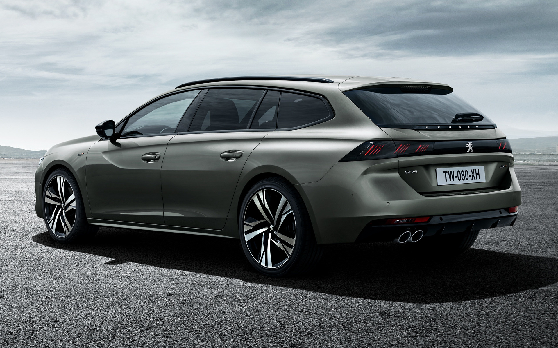 Land Rover Models >> 2018 Peugeot 508 SW GT - Wallpapers and HD Images | Car Pixel