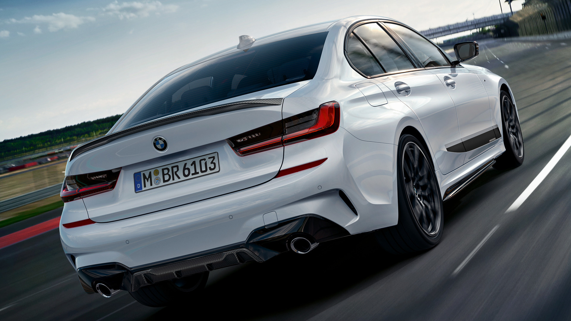 Bmw Series With M Performance Parts Wallpaper Hd