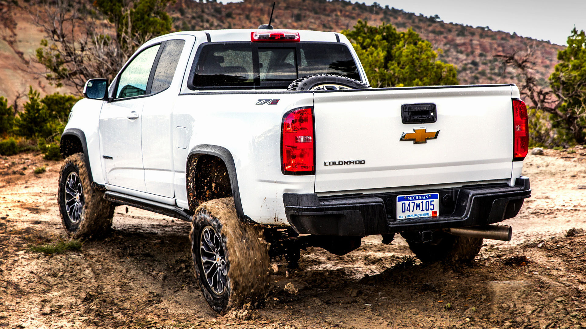 Chevrolet Colorado ZR2 Extended Cab (2017) Wallpapers and HD Images - Car Pixel