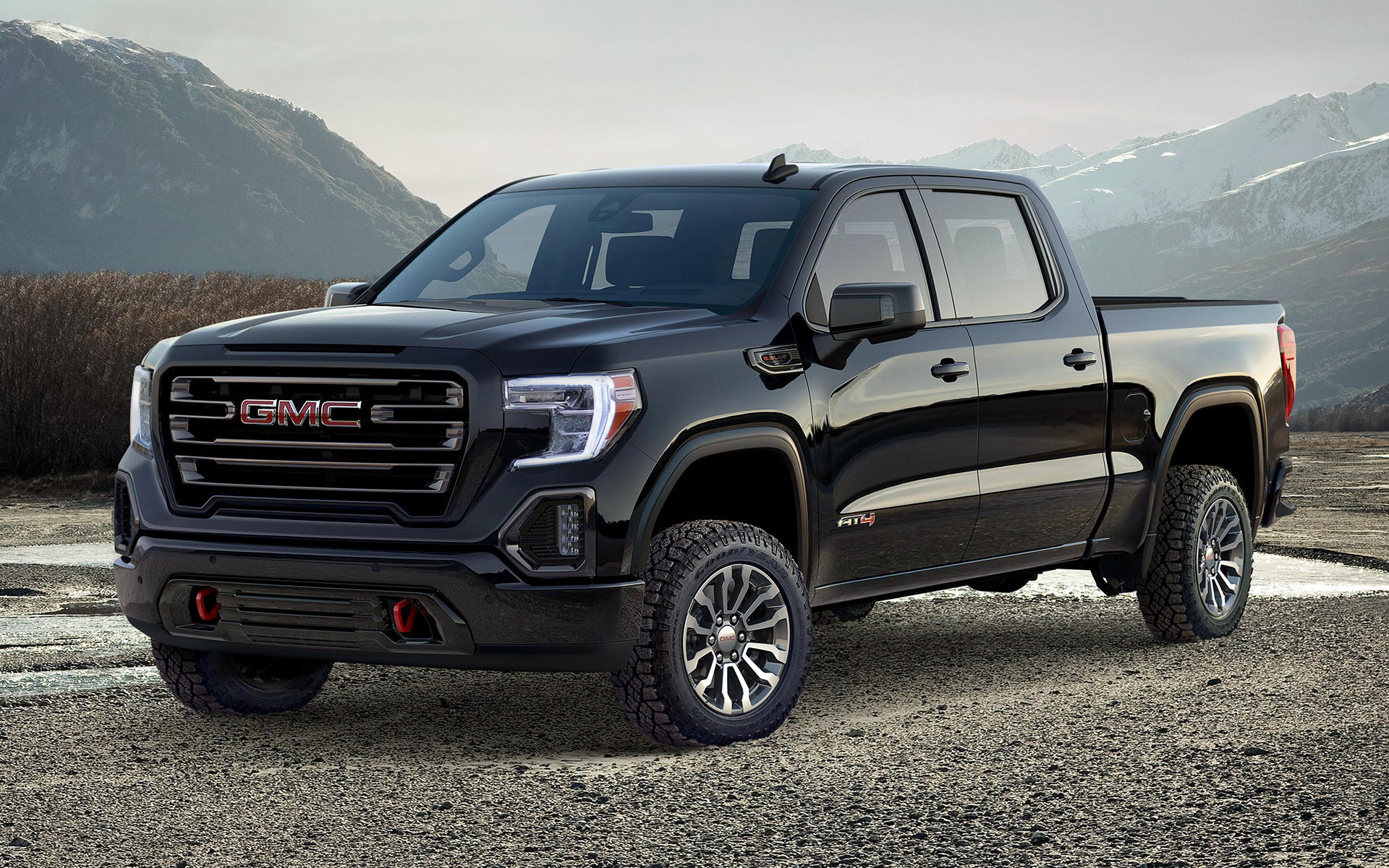 2019 Ram Hd >> GMC Sierra AT4 Crew Cab (2019) Wallpapers and HD Images - Car Pixel