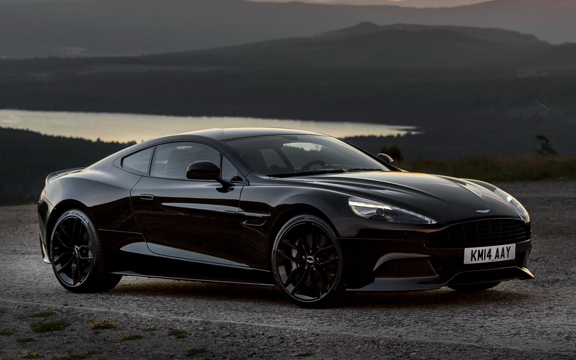 Aston Martin Vanquish Carbon Black Wallpapers And HD Images - Aston martin vanquish black