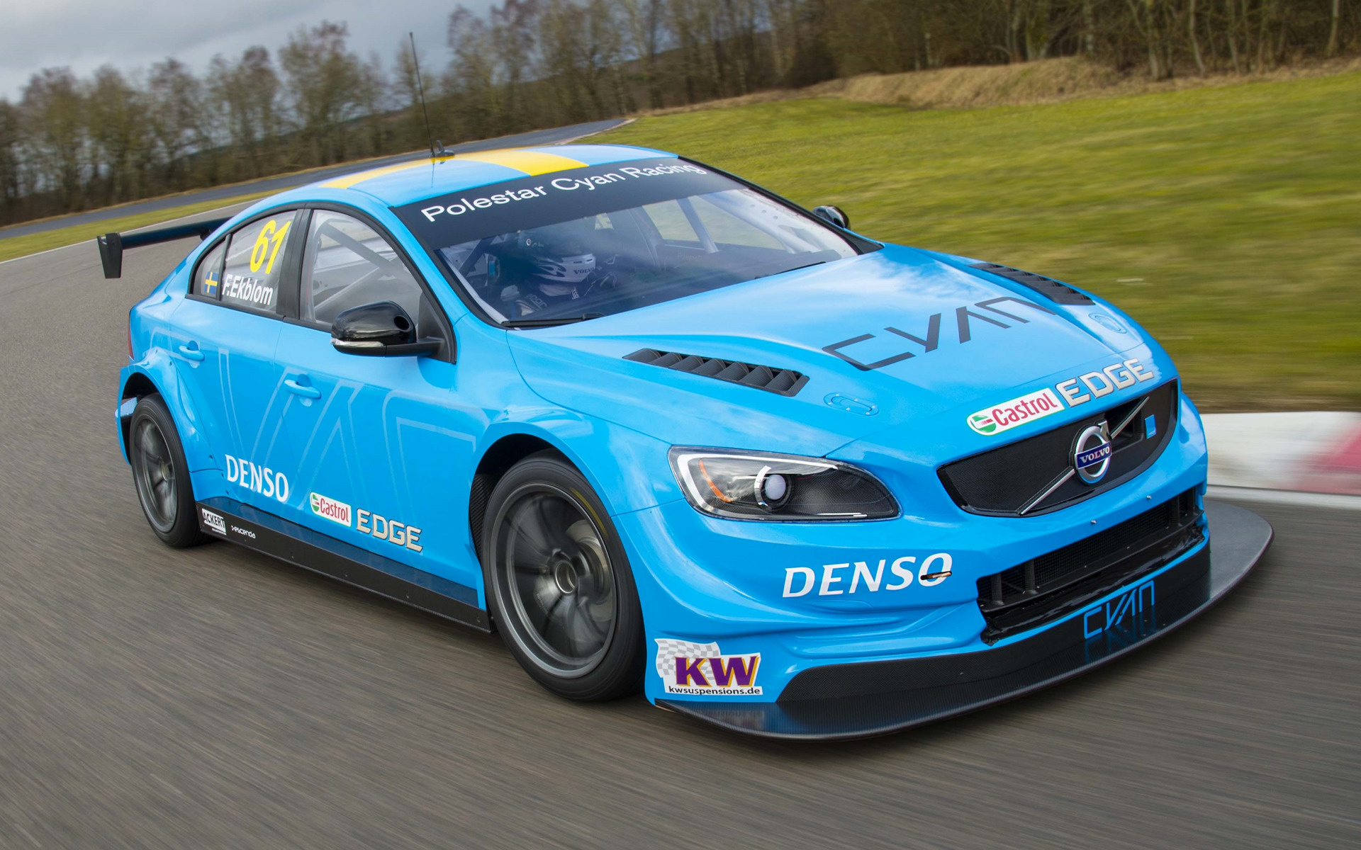 2016 Volvo S60 Polestar TC1 WTCC - Wallpapers and HD ...