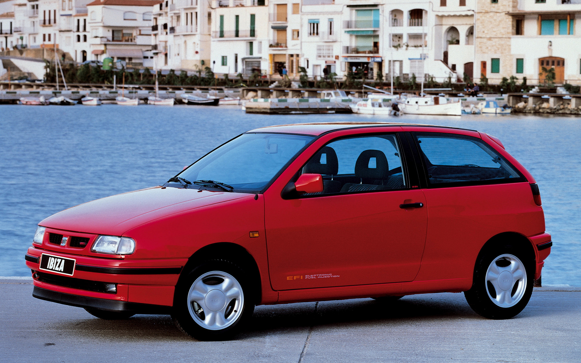 seat ibiza 3 door 1993 wallpapers and hd images car pixel. Black Bedroom Furniture Sets. Home Design Ideas