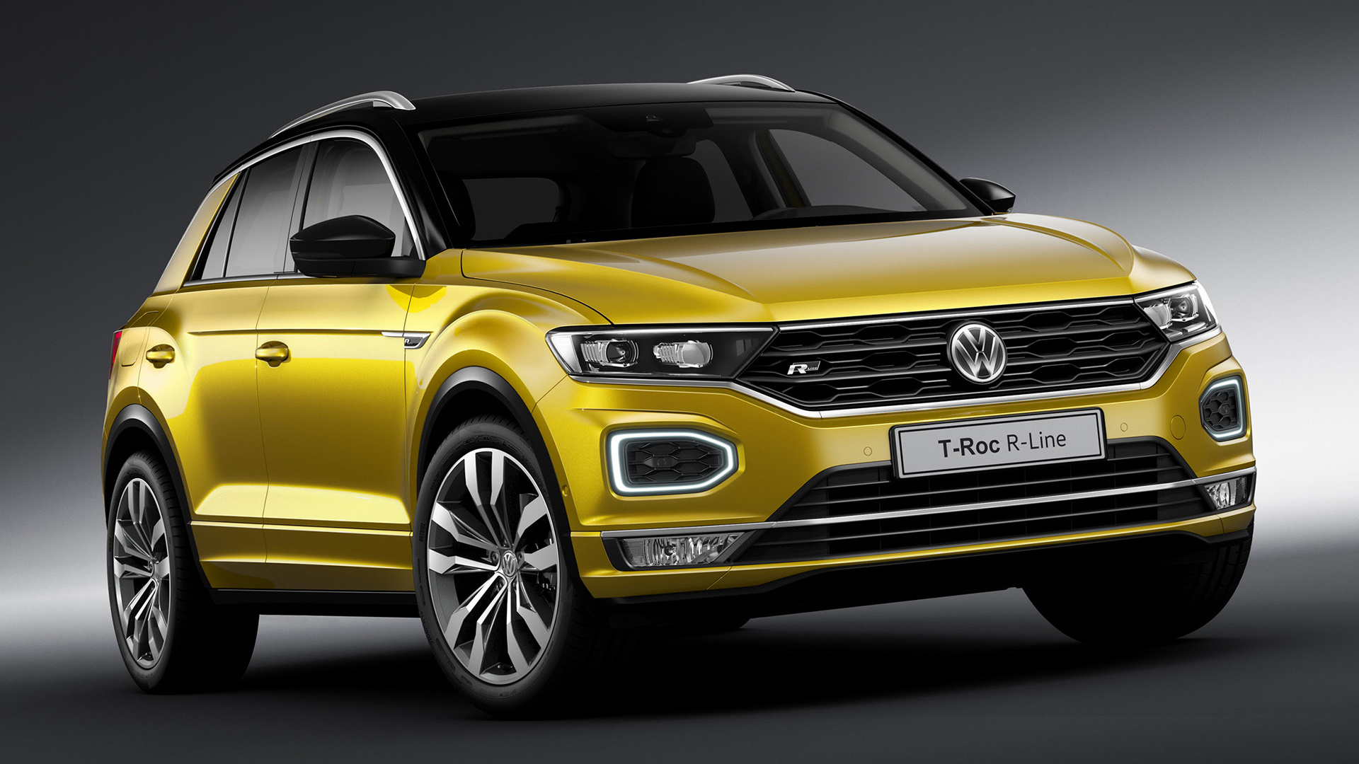 volkswagen t roc r line 2017 wallpapers and hd images. Black Bedroom Furniture Sets. Home Design Ideas