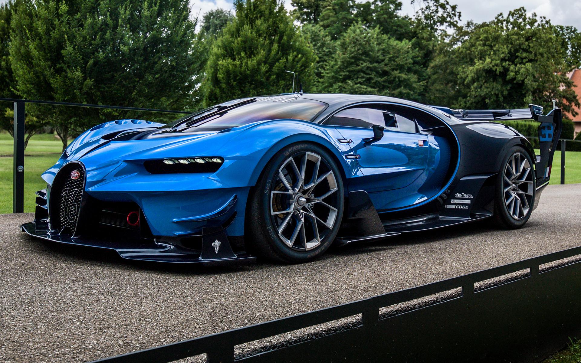 2015 Bugatti Vision Gran Turismo - Wallpapers and HD