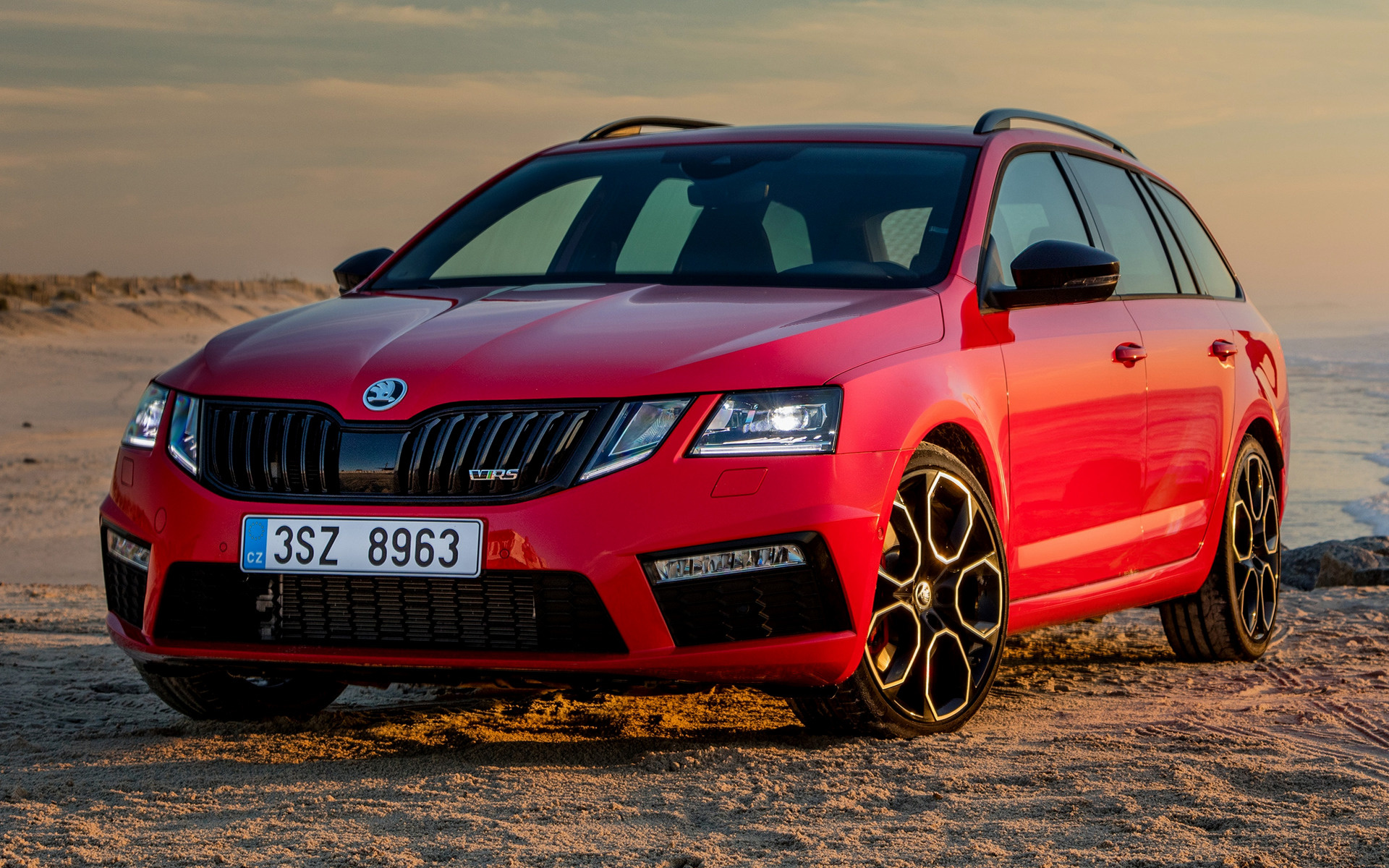 2017 skoda octavia rs 245 combi wallpapers and hd images car pixel. Black Bedroom Furniture Sets. Home Design Ideas