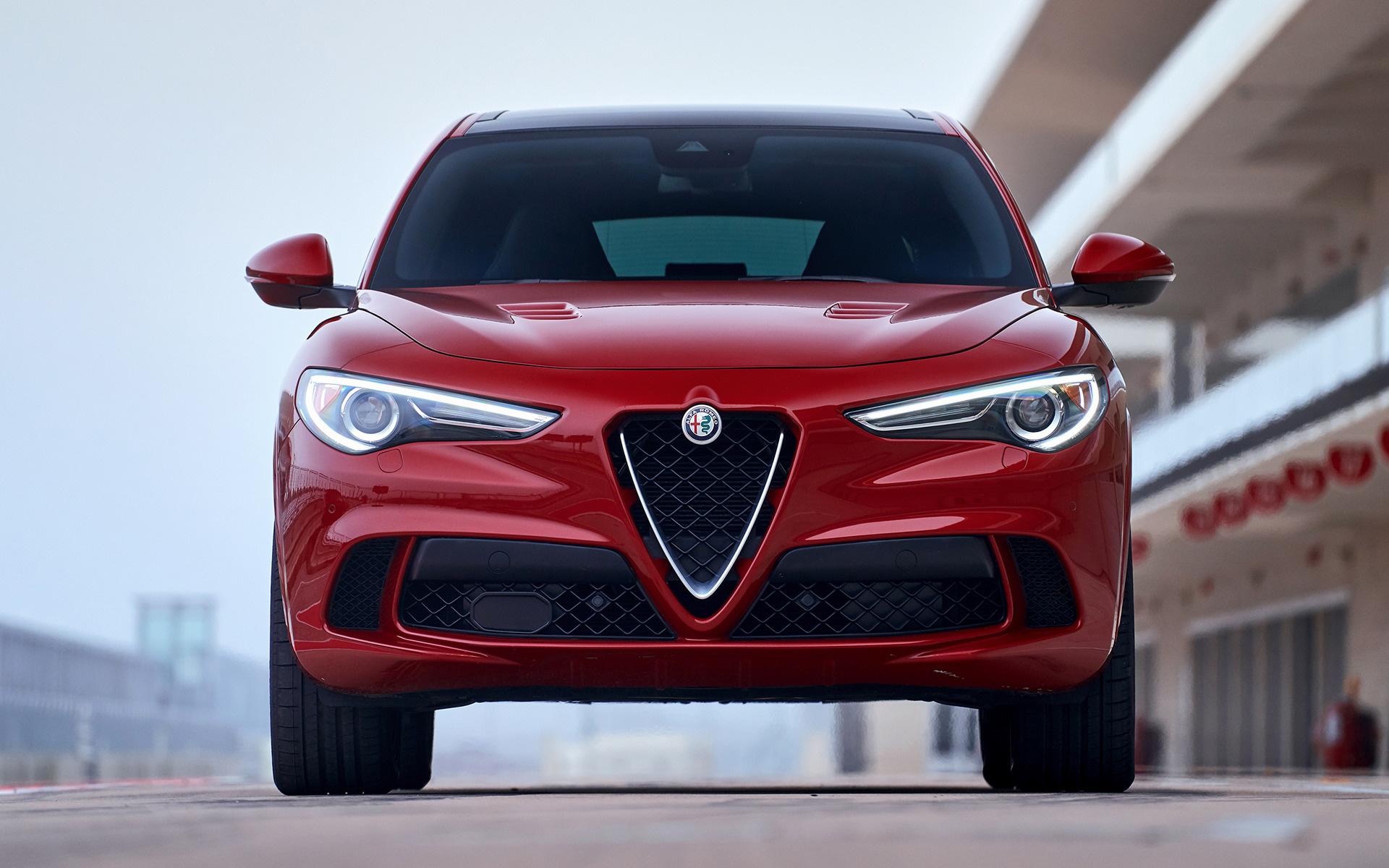 2018 Alfa Romeo Stelvio Quadrifoglio Us Wallpapers And