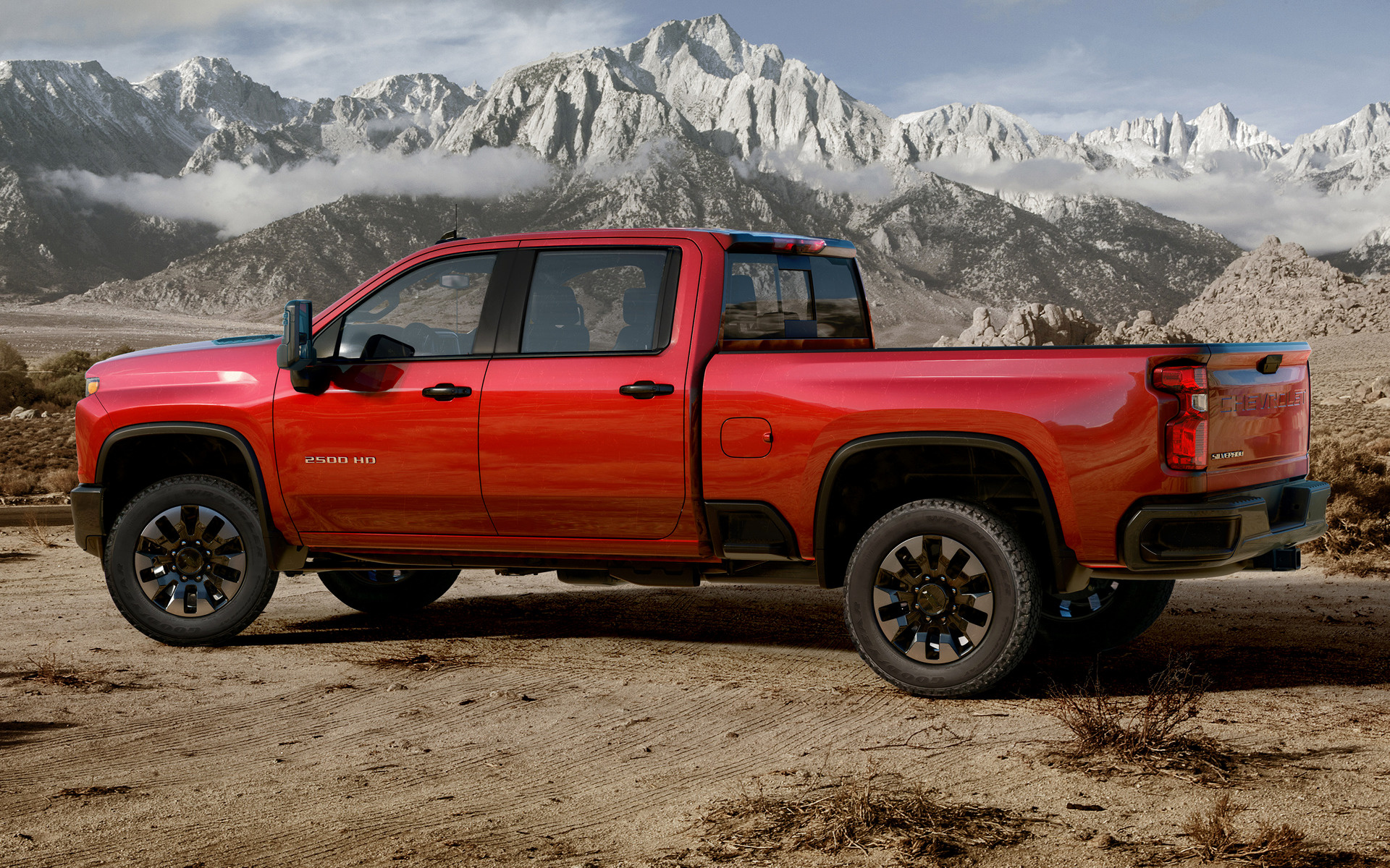 2020 Chevrolet Silverado 2500 HD Custom Crew Cab - Wallpapers and HD Images | Car Pixel