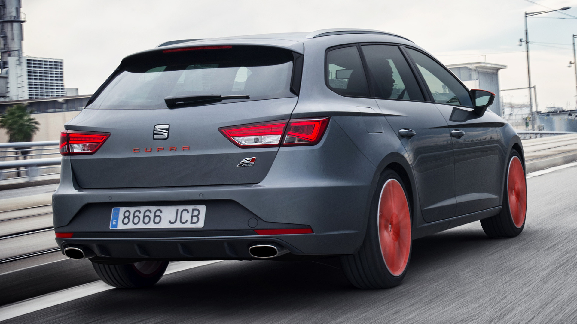 seat leon st cupra 280 2015 wallpapers and hd images. Black Bedroom Furniture Sets. Home Design Ideas