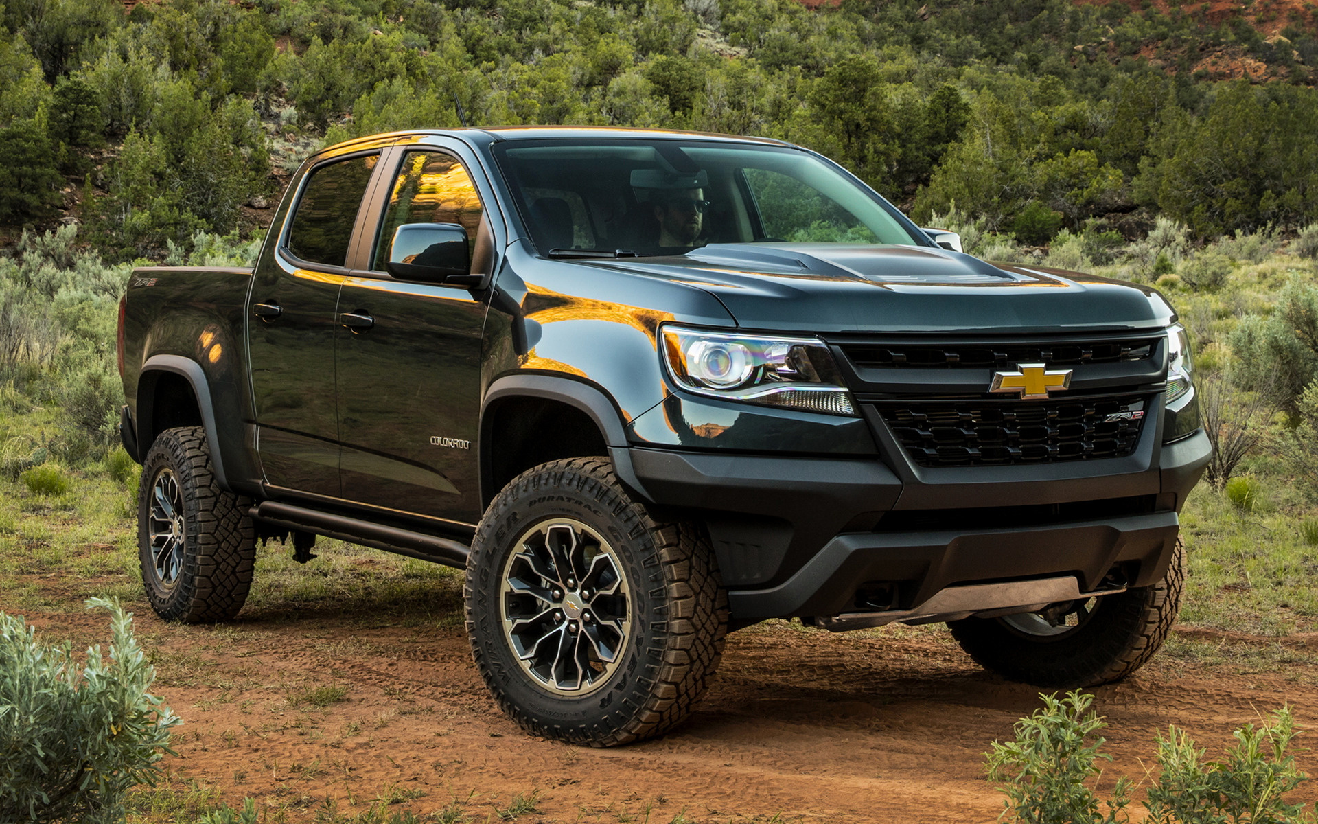 2017 Chevrolet Colorado Zr2 Crew Cab Wallpapers And Hd